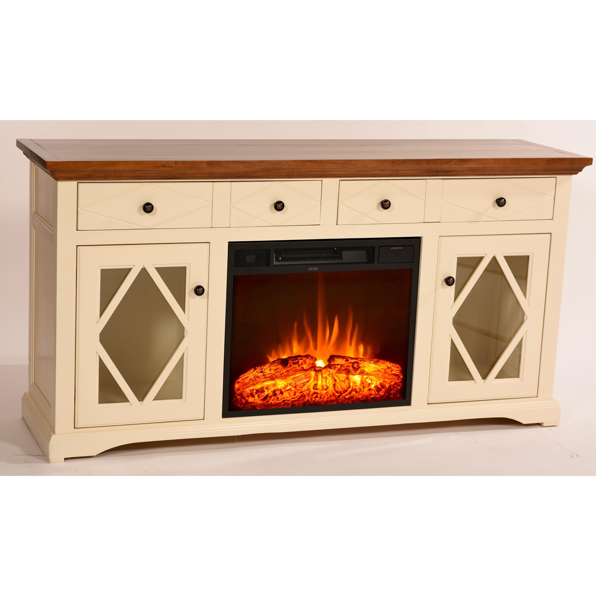 Darby Home Co Blackwater 63 Quot Tv Stand With Electric