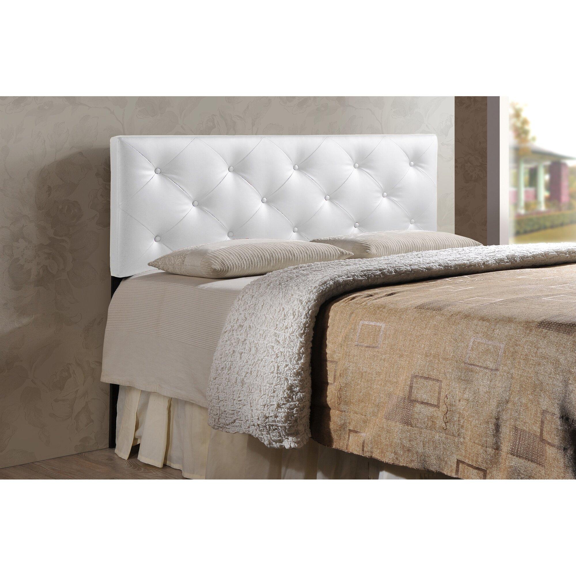 Bed headboard upholstered - Orlando Upholstered Panel Headboard