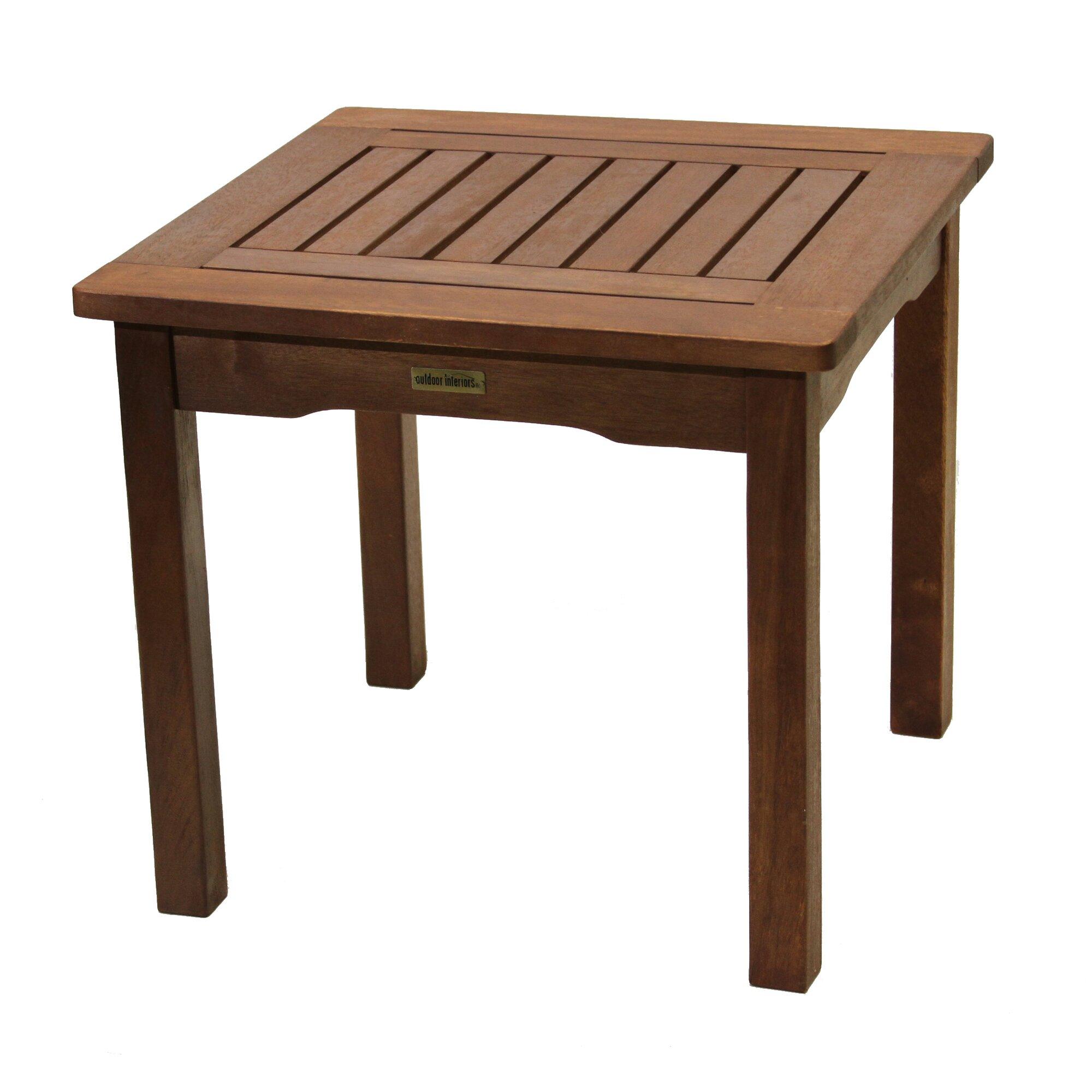 outdoor interiors beistelltisch bewertungen. Black Bedroom Furniture Sets. Home Design Ideas