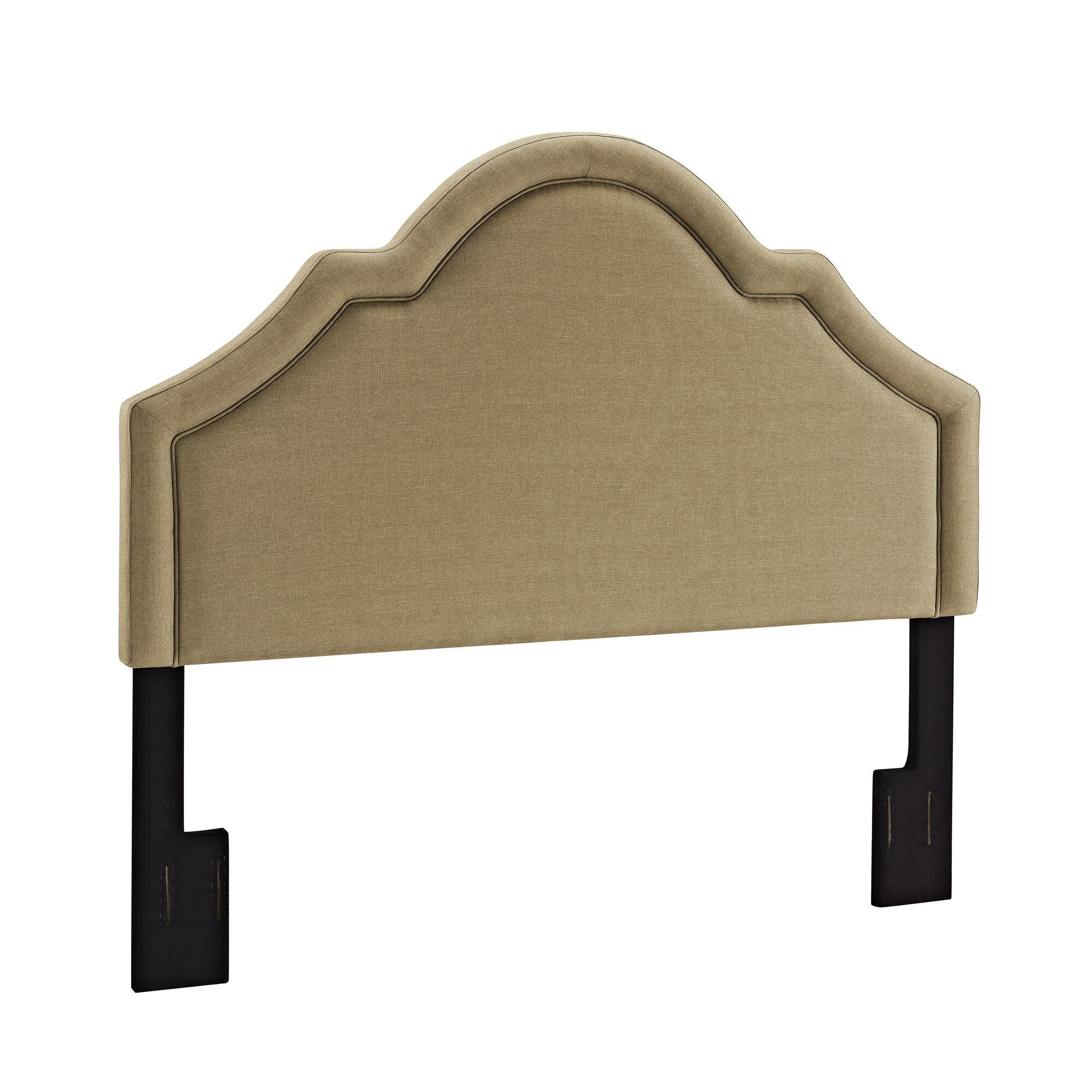 Alcott Hill Baton Rouge Queen Upholstered Panel Headboard