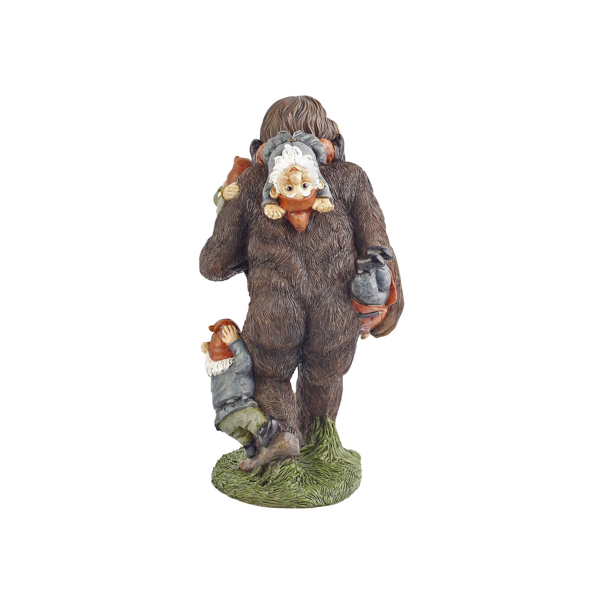 Bigfoot lawn ornament - Schlepping The Garden Gnomes Bigfoot Statue