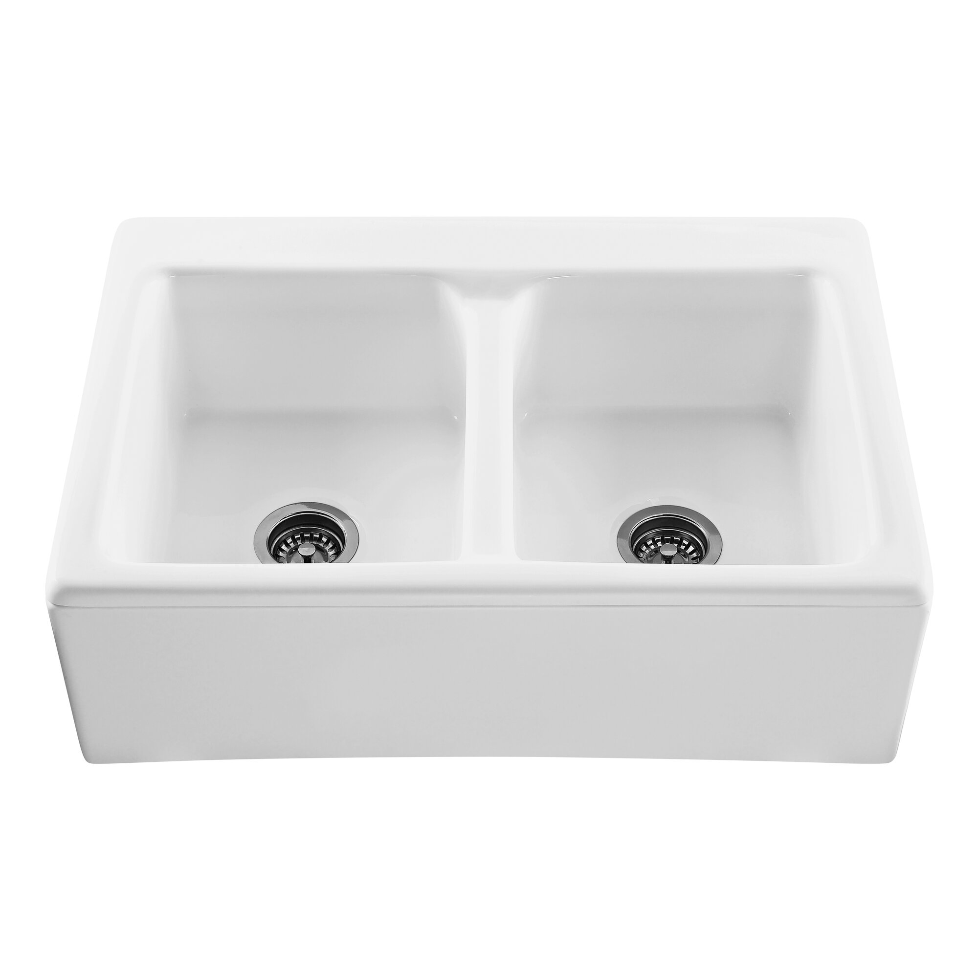 lyle 3325 x 2225 appalachian double bowl kitchen sink - Bowl Kitchen Sink
