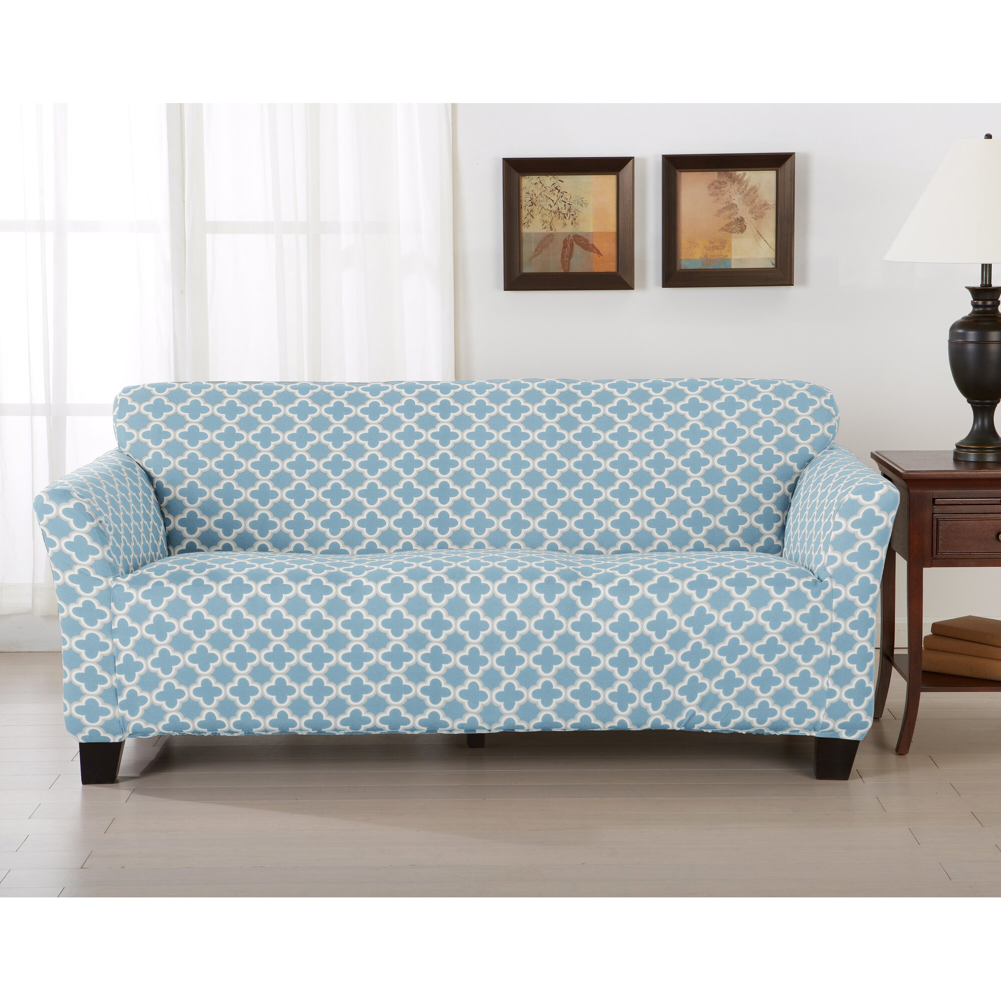Chenille Skirted Sofa: Custom Sofa Slipcover Custom Made Slipcovers For Sectional