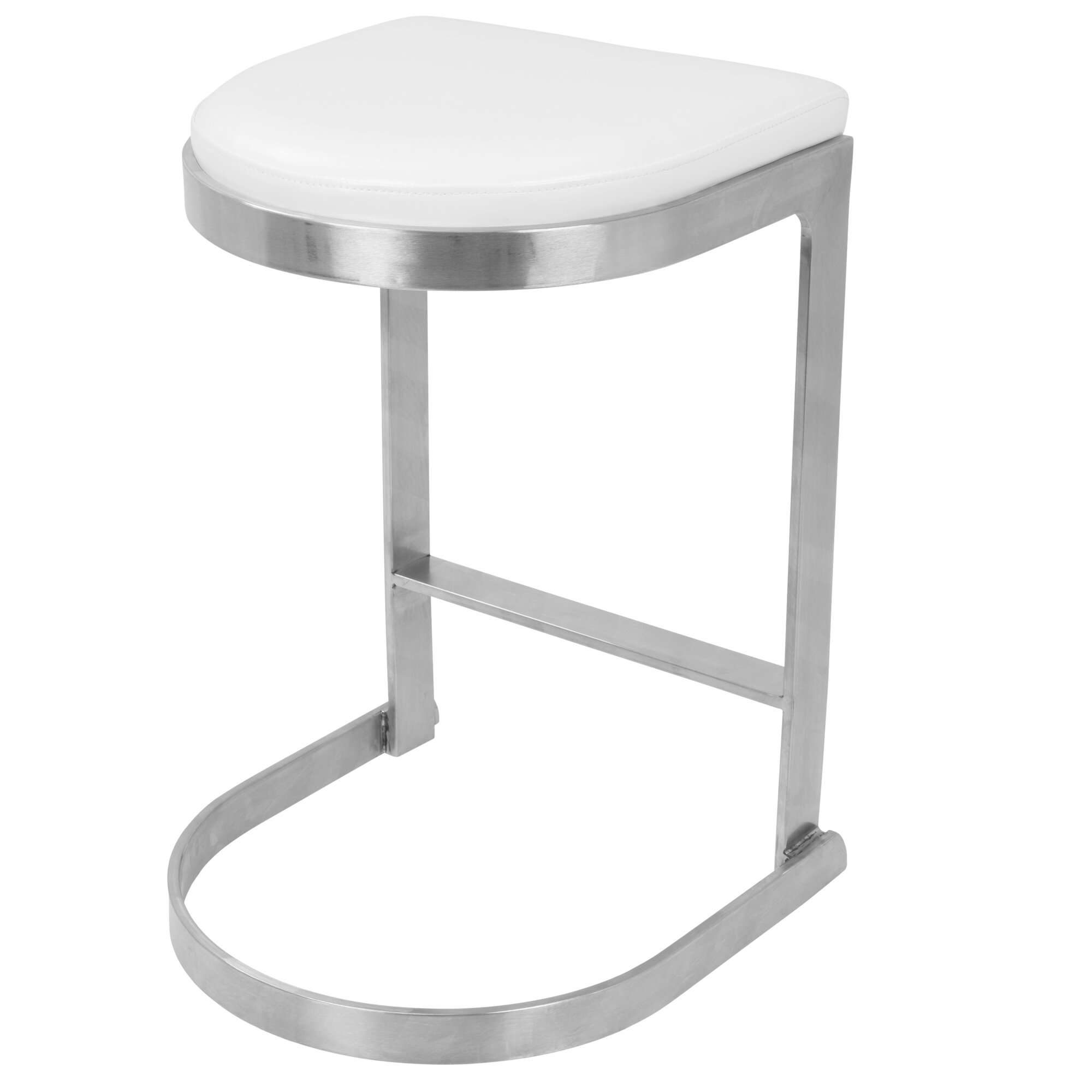 Wade Logan Archimedes 24 Quot Bar Stool With Cushion Wayfair Ca