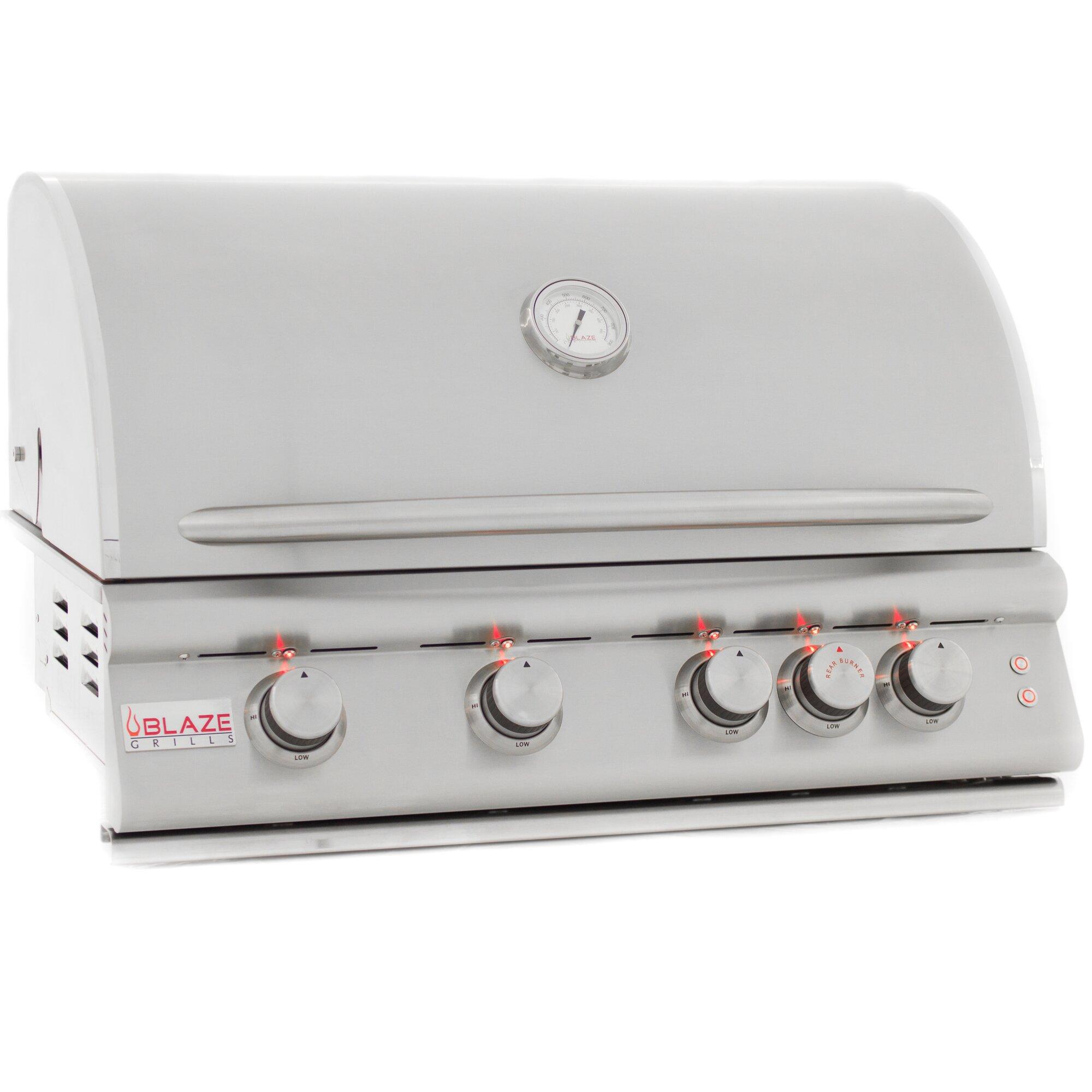 Blaze Grills LTE 4-Burner Built-In Propane Gas Grill | Wayfair