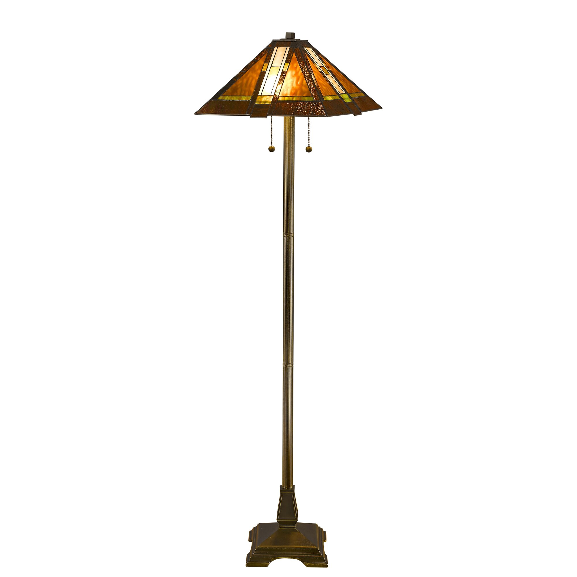 "Astoria Grand Preston 60"" Empire Metal Floor Lamp & Reviews 