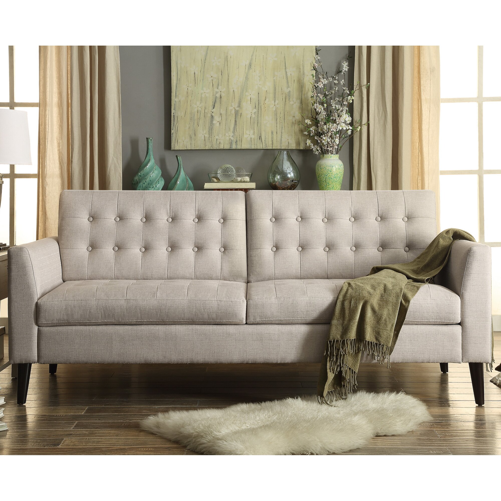 Alderbrook Tufted Sofa & Reviews