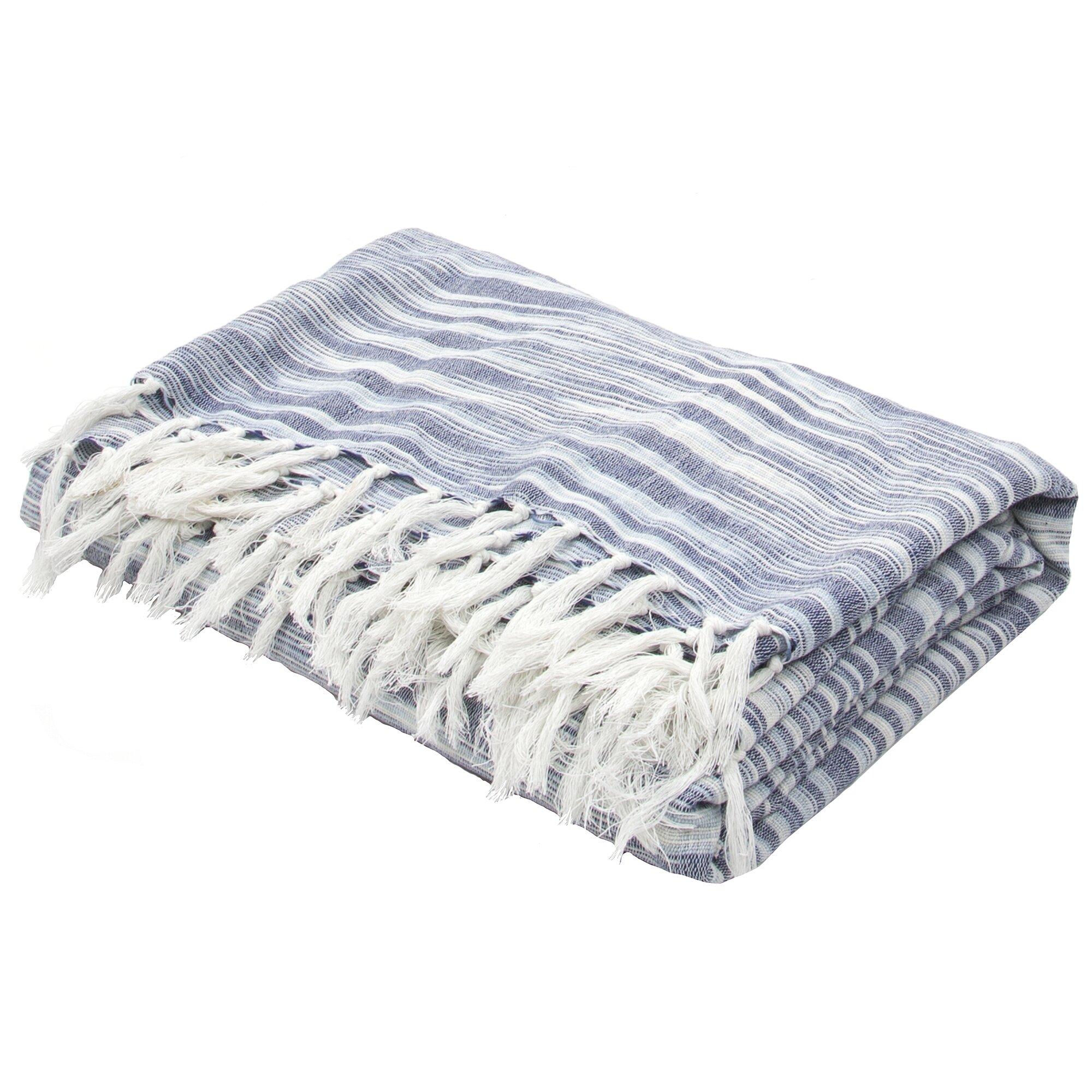 gattilier essential handloom modern throw blanket  reviews  - gattilier essential handloom modern throw blanket
