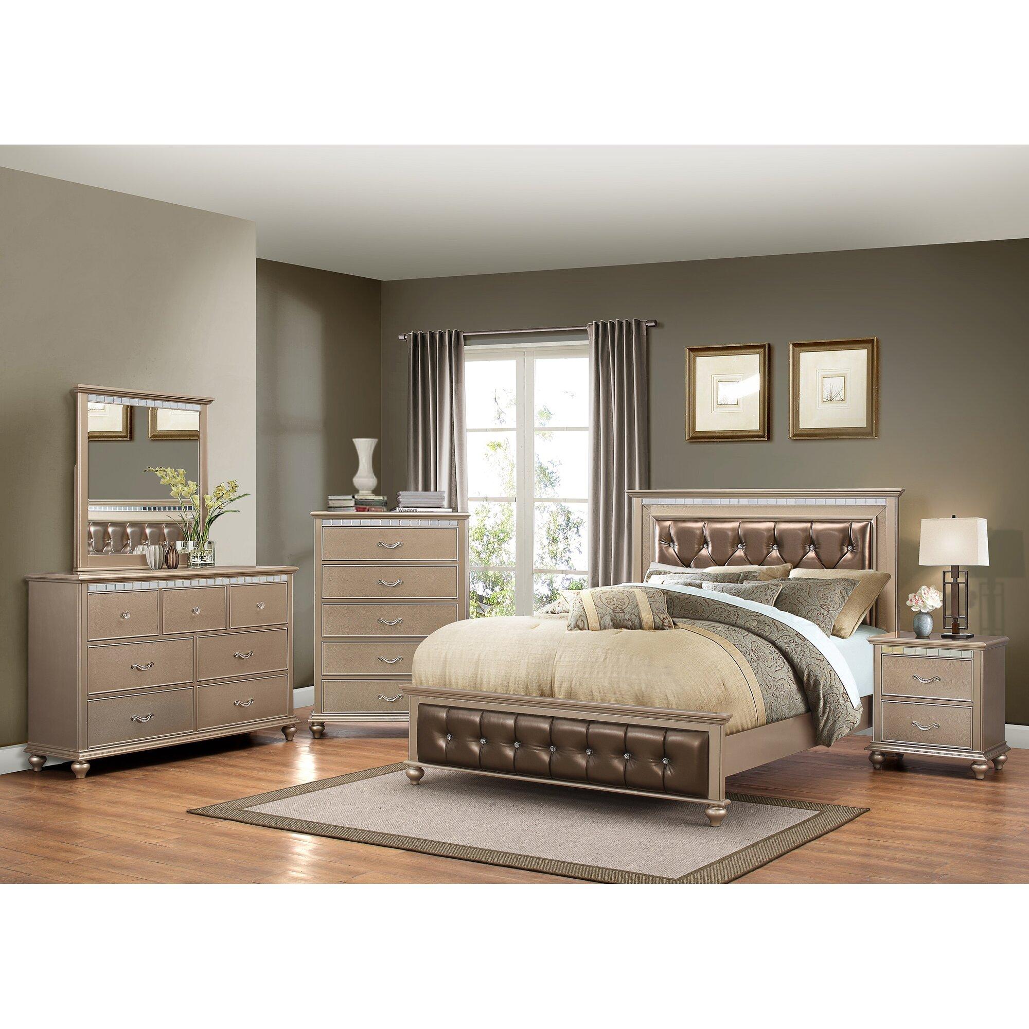 Willa arlo interiors almerton 5 drawer chest by simmons - Willa arlo interiors keeley bar cart ...