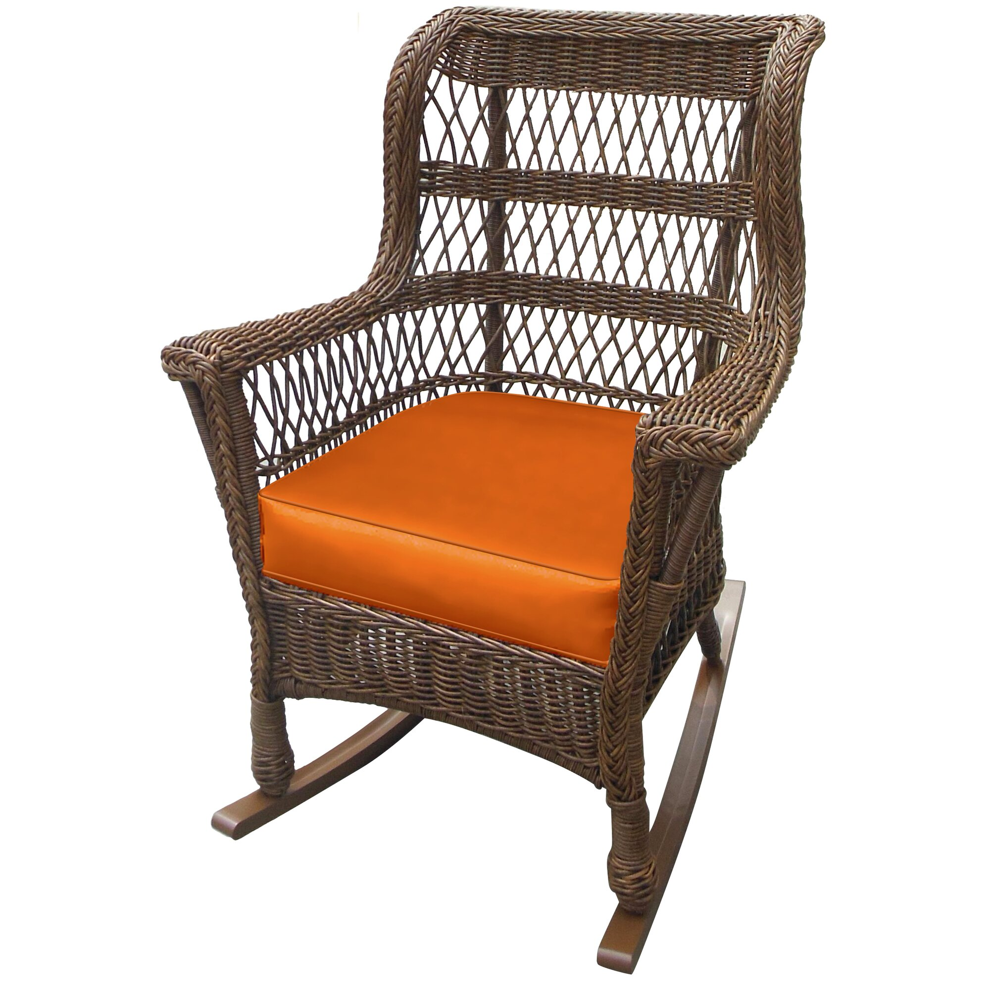 high back lawn chairs forever patio high back rocking chair with cushion 4205