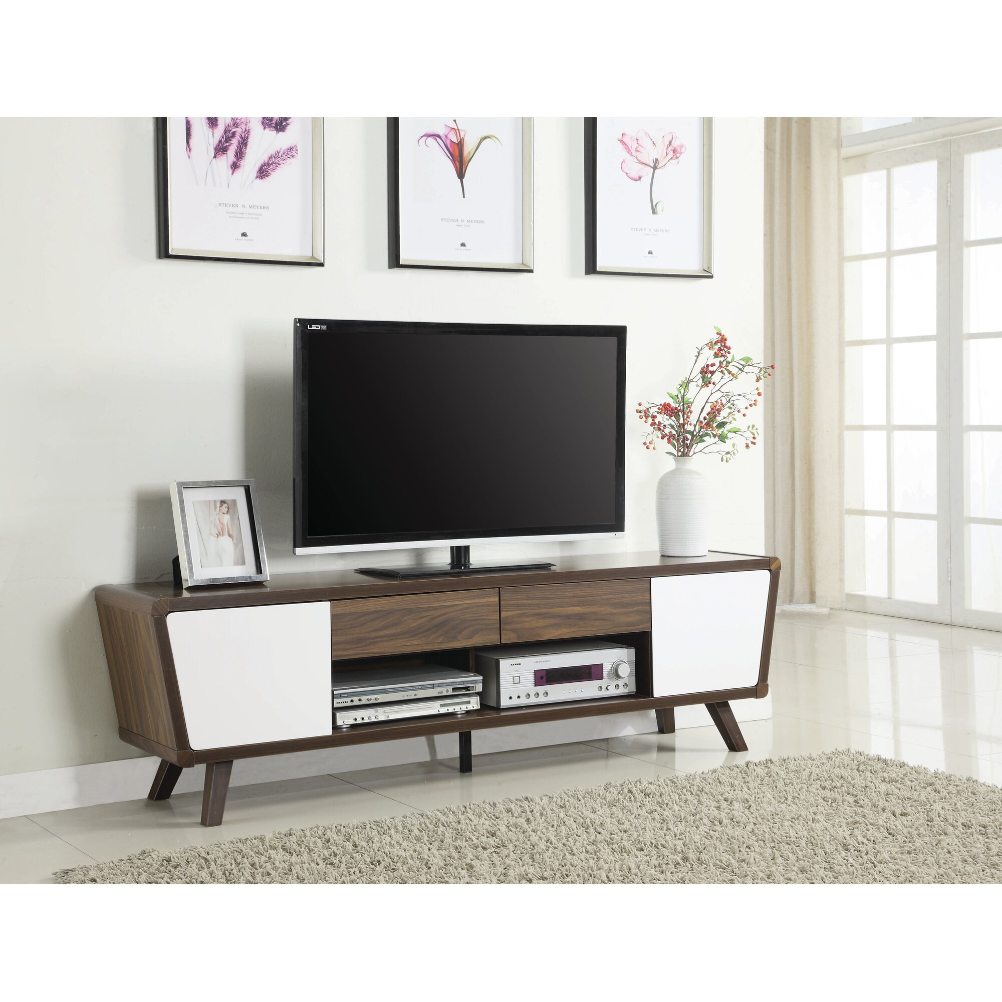 Modern Tv Stand Great Tv Stand Living Room Furniture Black White