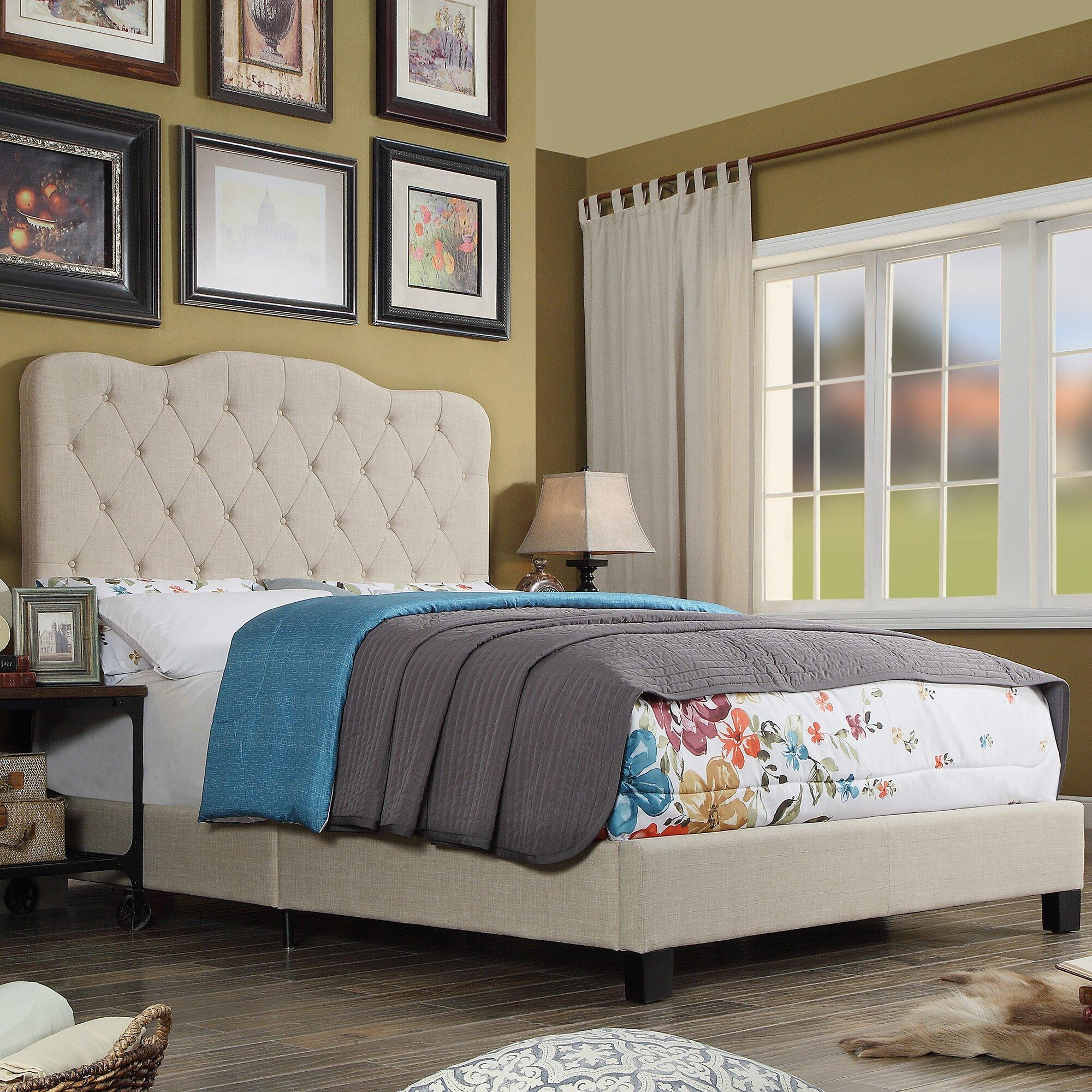 Glam Bedroom Furniture You\'ll Love | Wayfair