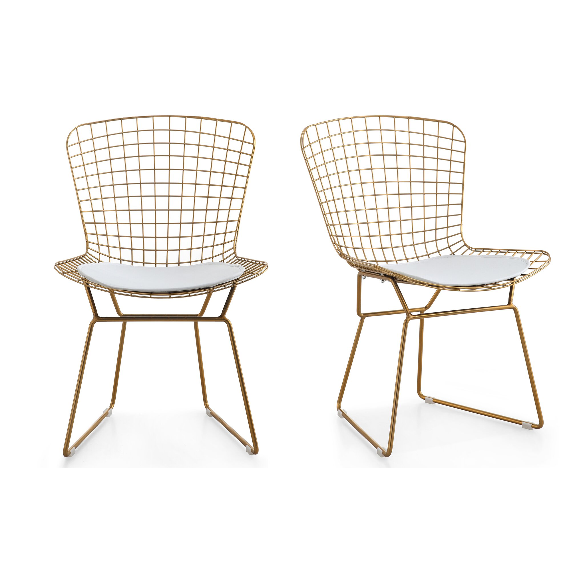 Wire outdoor chairs - M38 Wire Side Chair