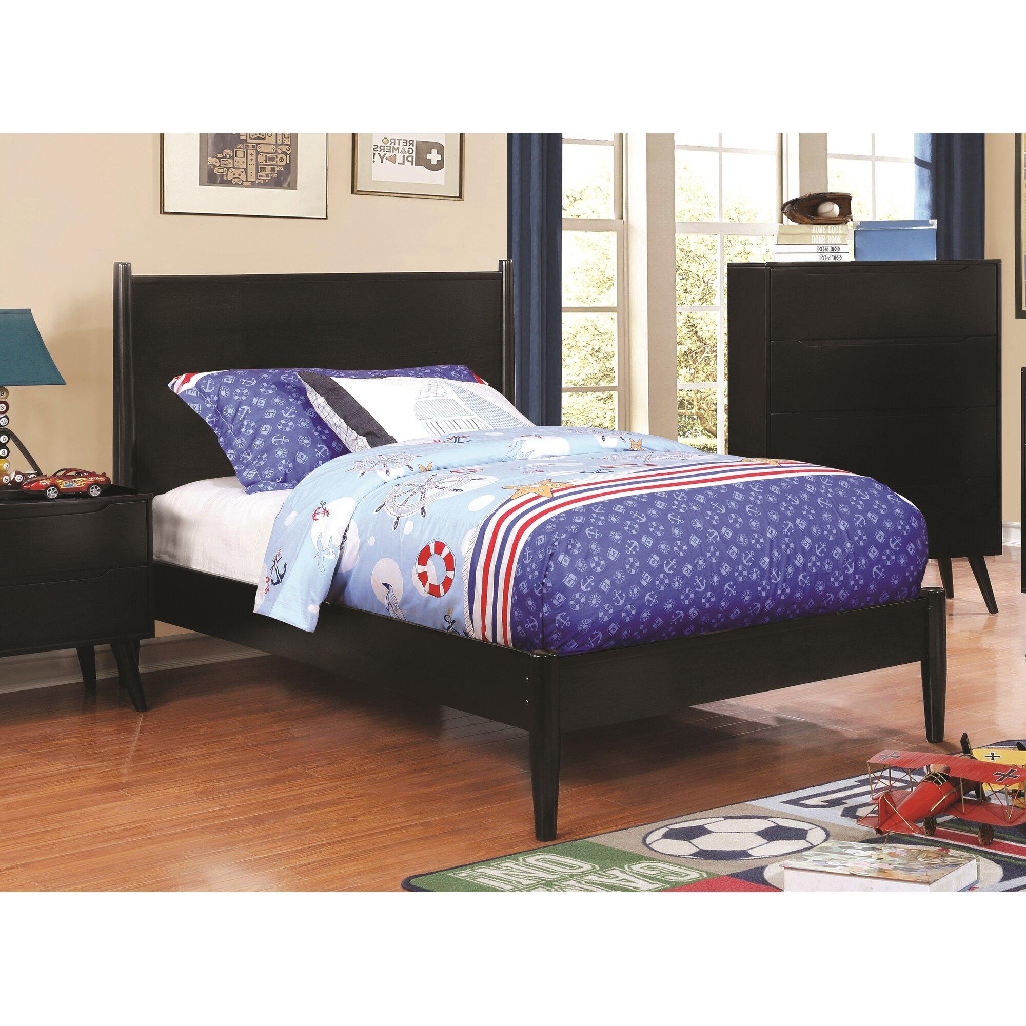 Modern platform bedroom sets - Mason Mid Century Modern Platform Customizable Bedroom Set