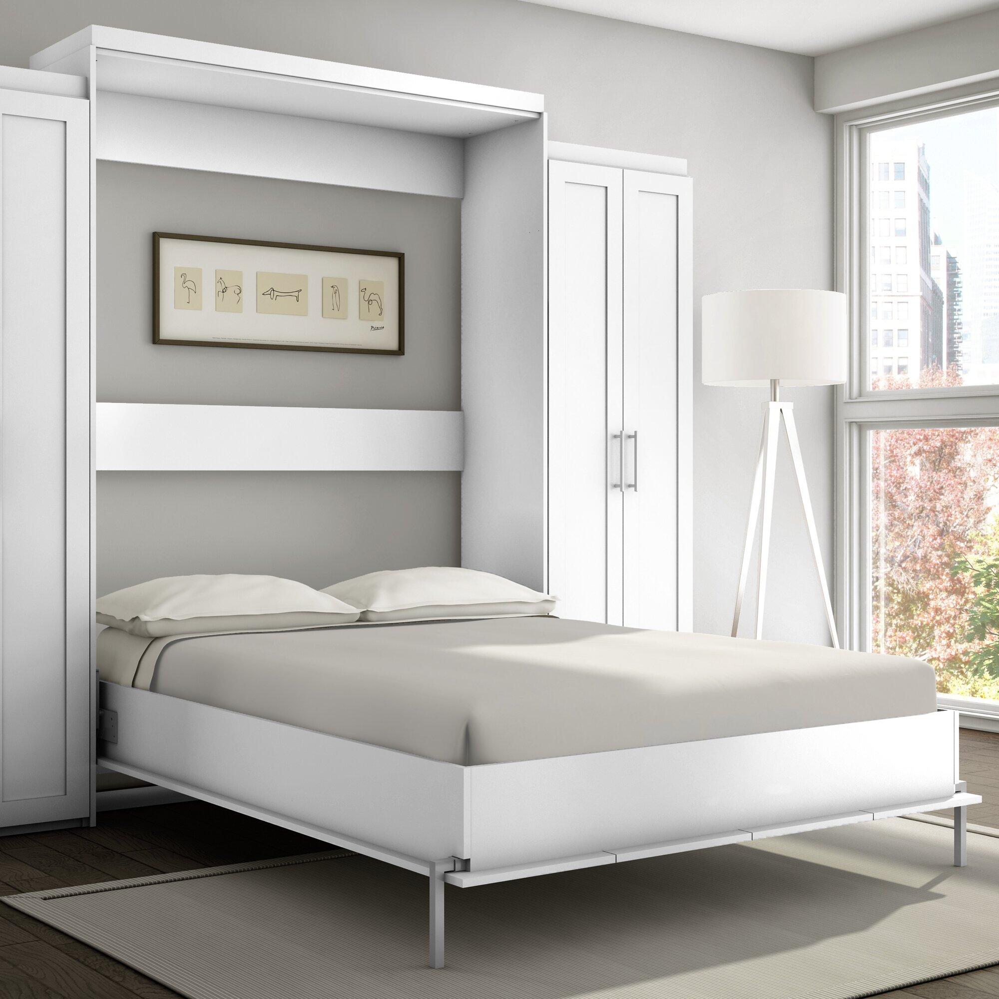 Stellar Home Shaker Murphy Bed  Reviews Wayfair - Online shaker style bedroom furniture