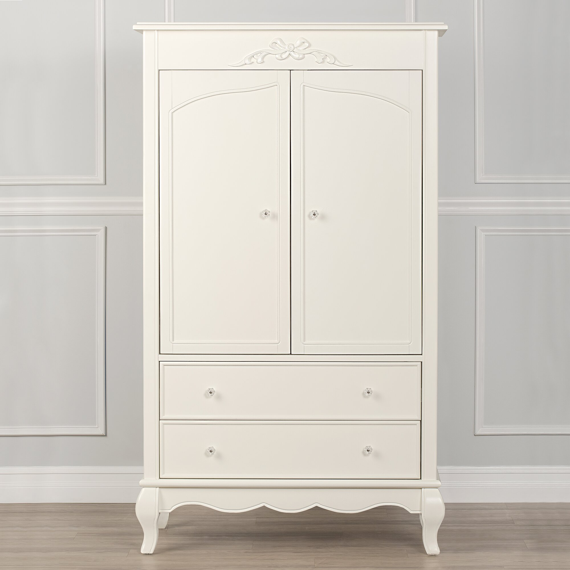 Evolur aurora armoire reviews wayfair for Laci kitchen set