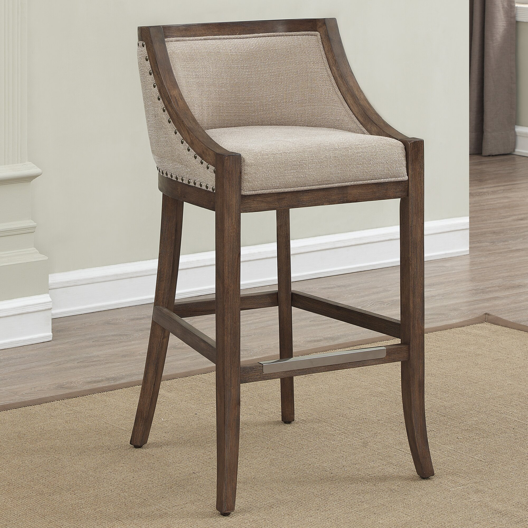 Darby Home Co Cormiers Counter Stool Amp Reviews Wayfair