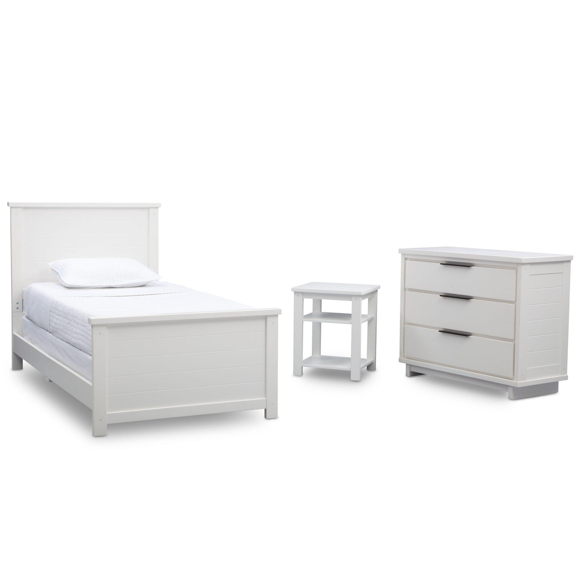 Meadowbrook Twin Panel 3piece Bedroom Set