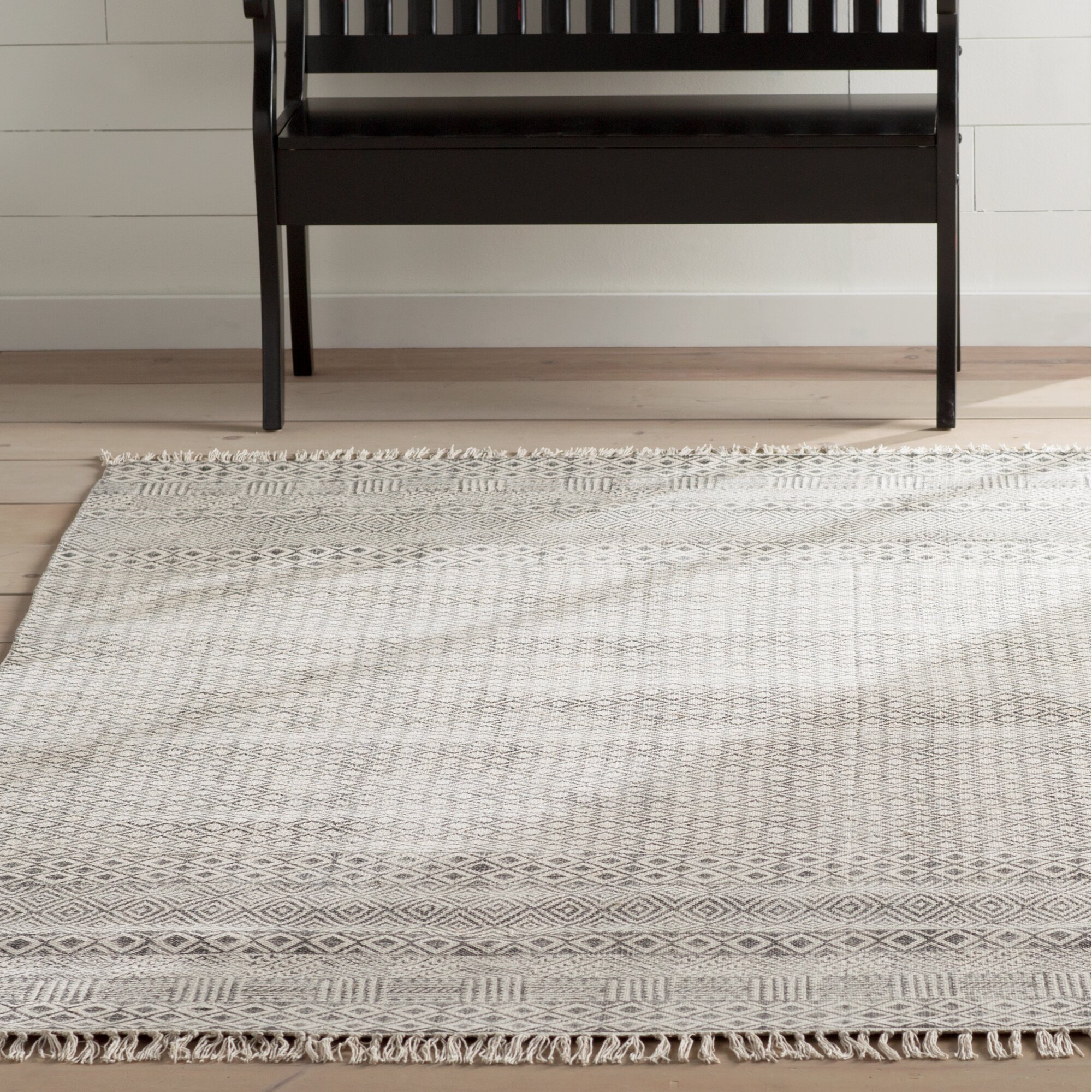 all modern area rugs  rugs ideas - oldtown hand woven gray area rug reviews allmodern