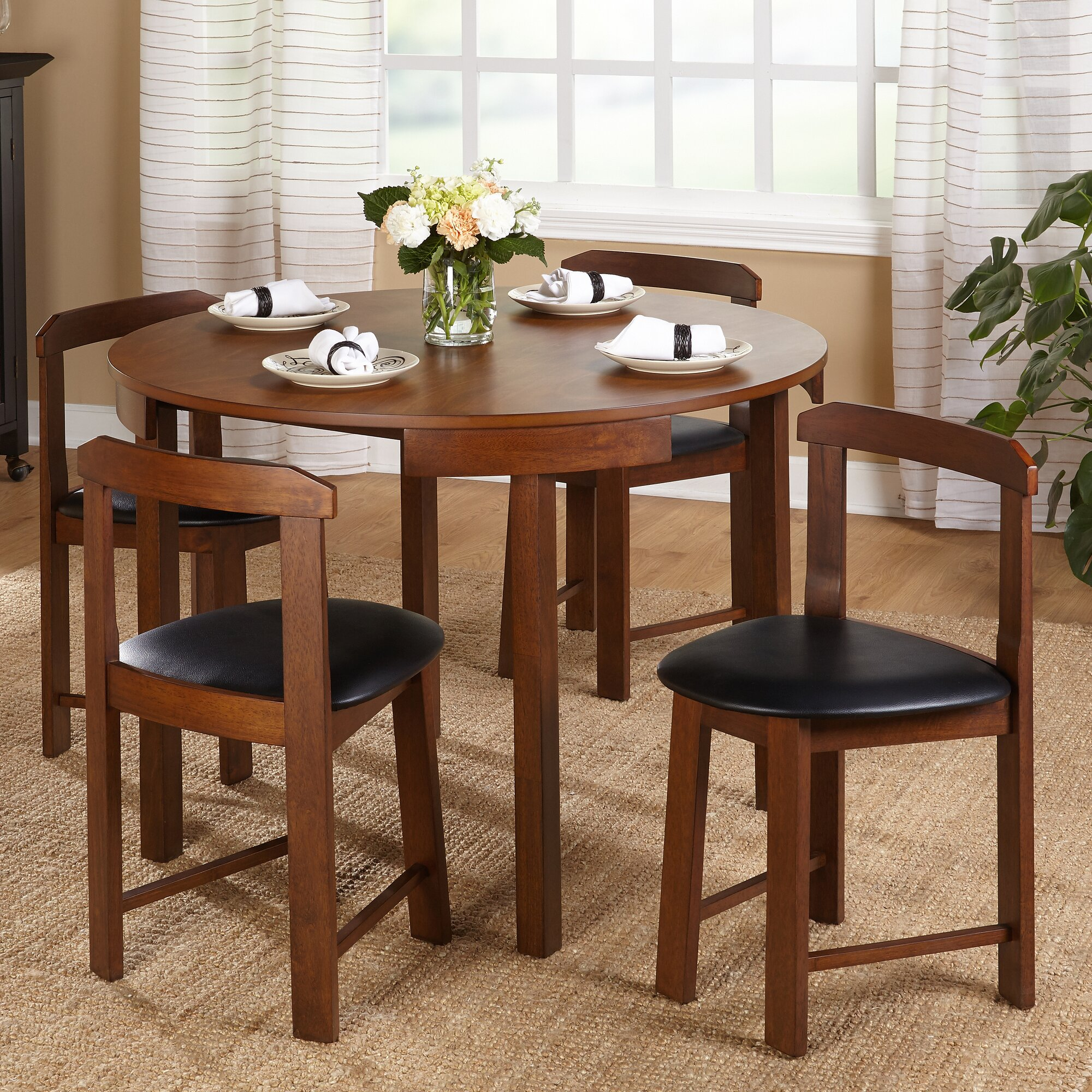 Round dining room sets - Round Dining Room Sets 43