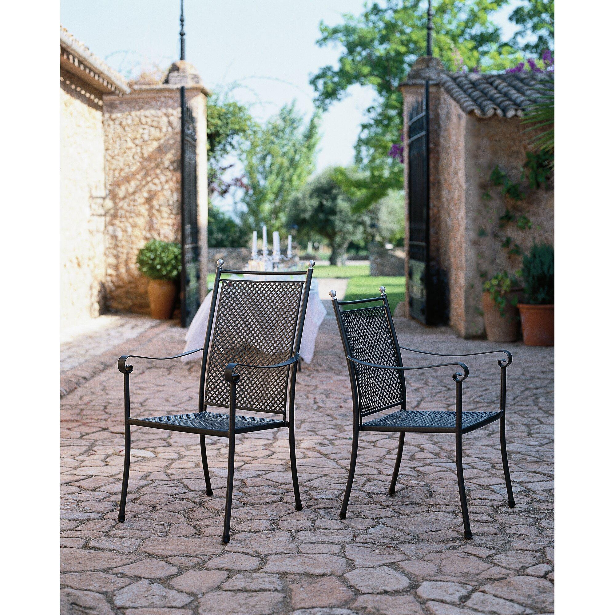 mwh stapelbares gartenstuhl set royal garden. Black Bedroom Furniture Sets. Home Design Ideas