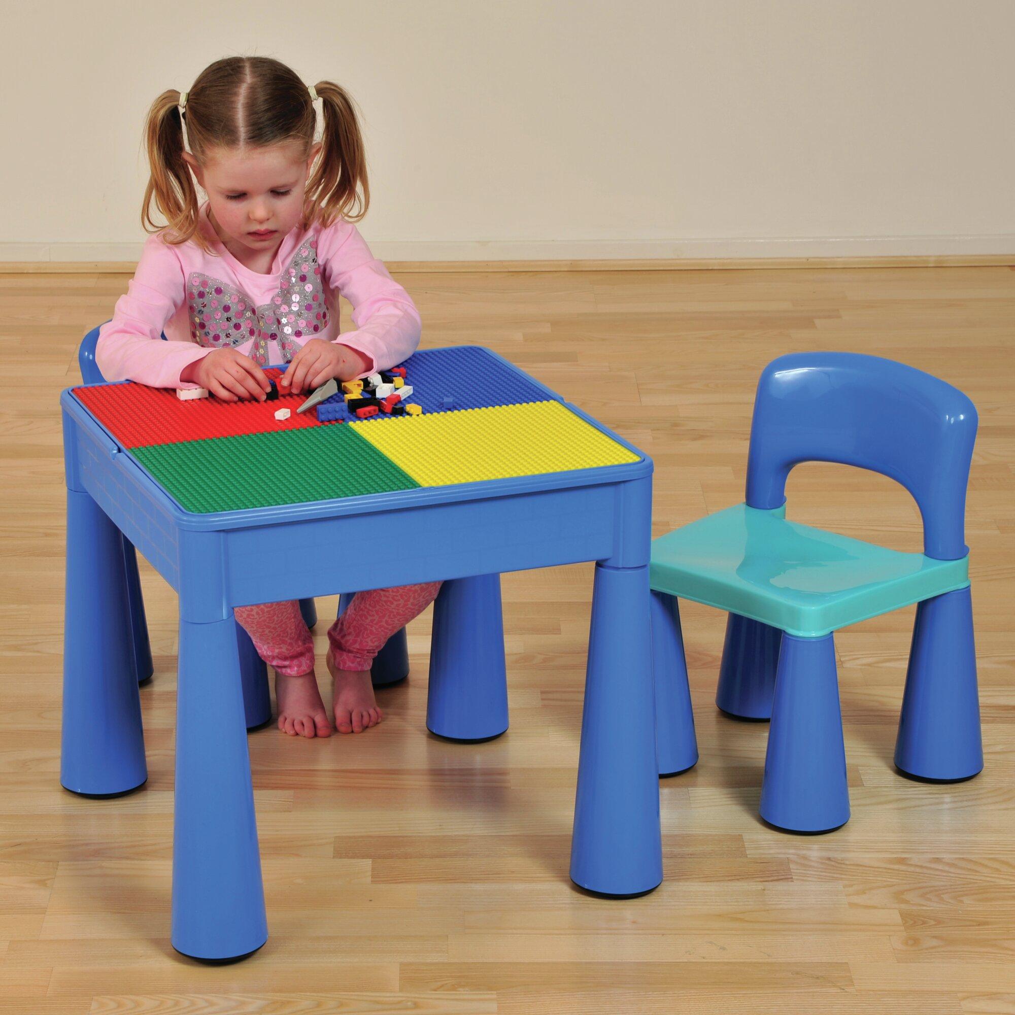 just kids 3 tlg kinder tisch und stuhl set versatile bewertungen. Black Bedroom Furniture Sets. Home Design Ideas