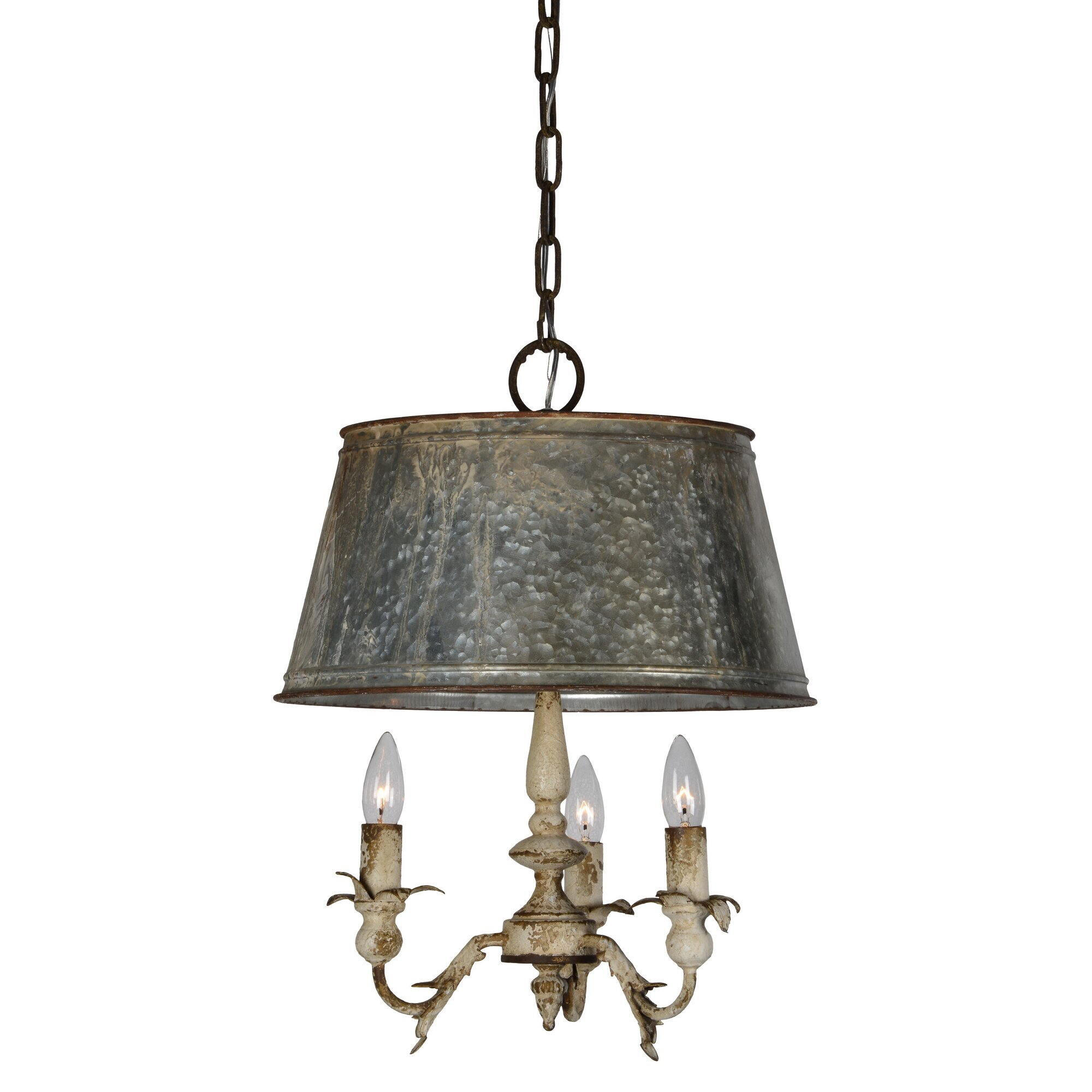Forty West Pemberton 3 Light Candle Style Chandelier