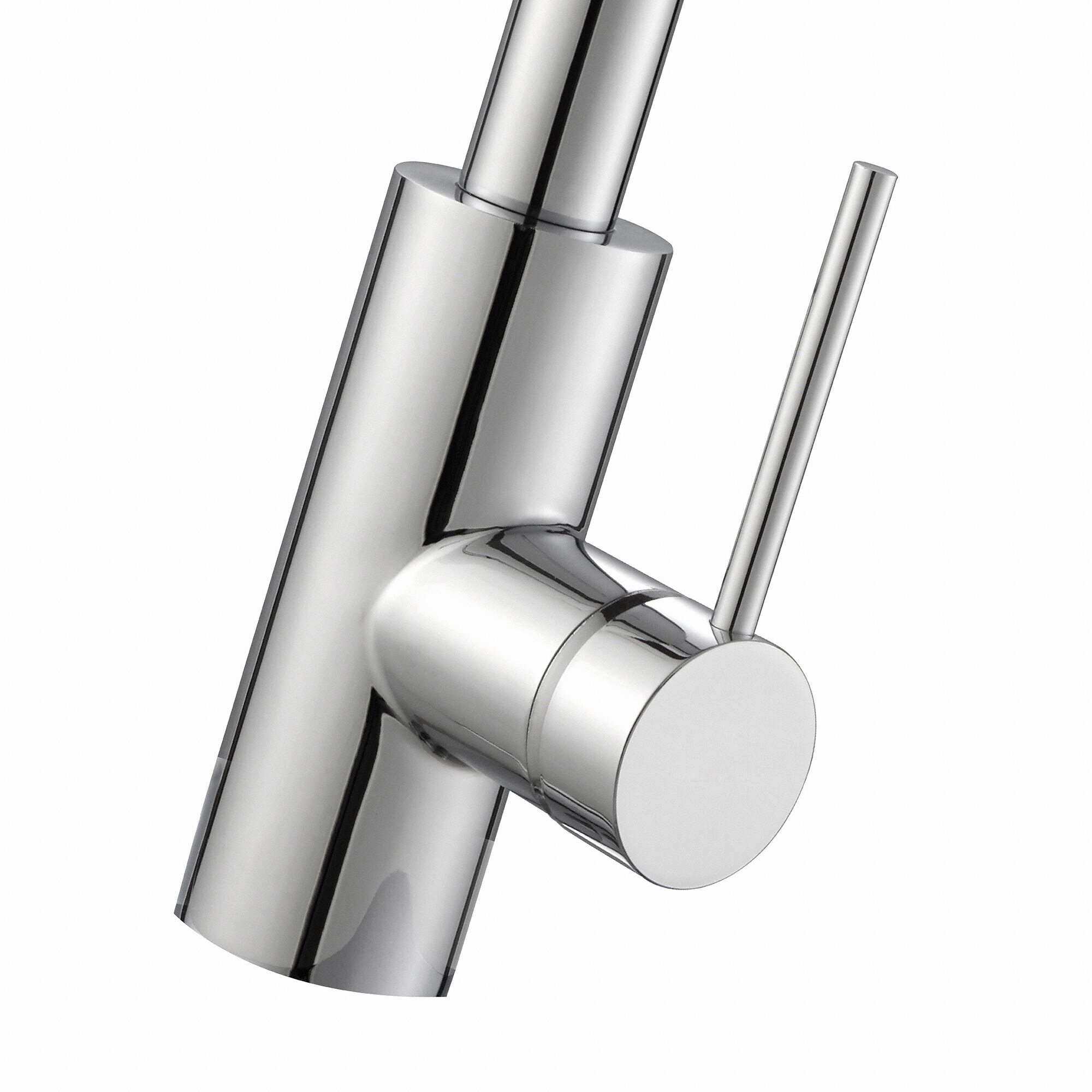 oletto single handle pull down kitchen faucet reviews