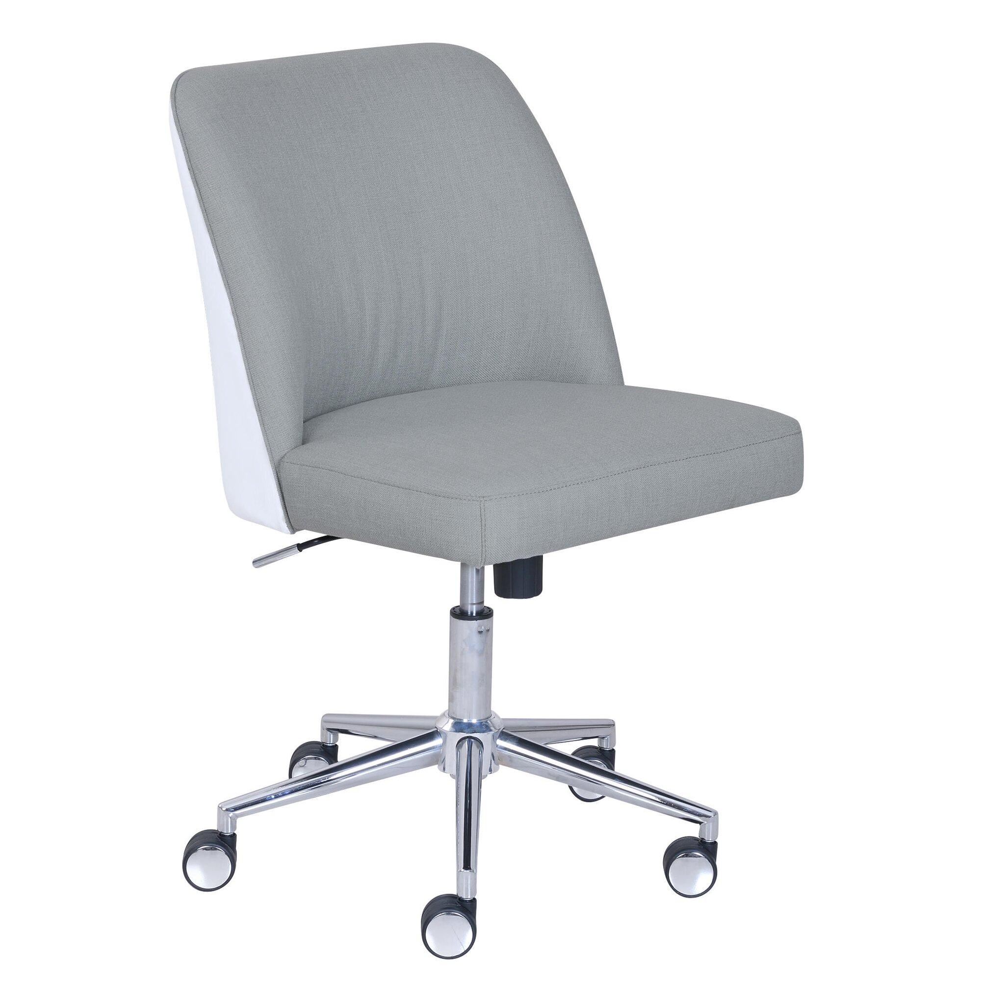 White Task Chair Instachair