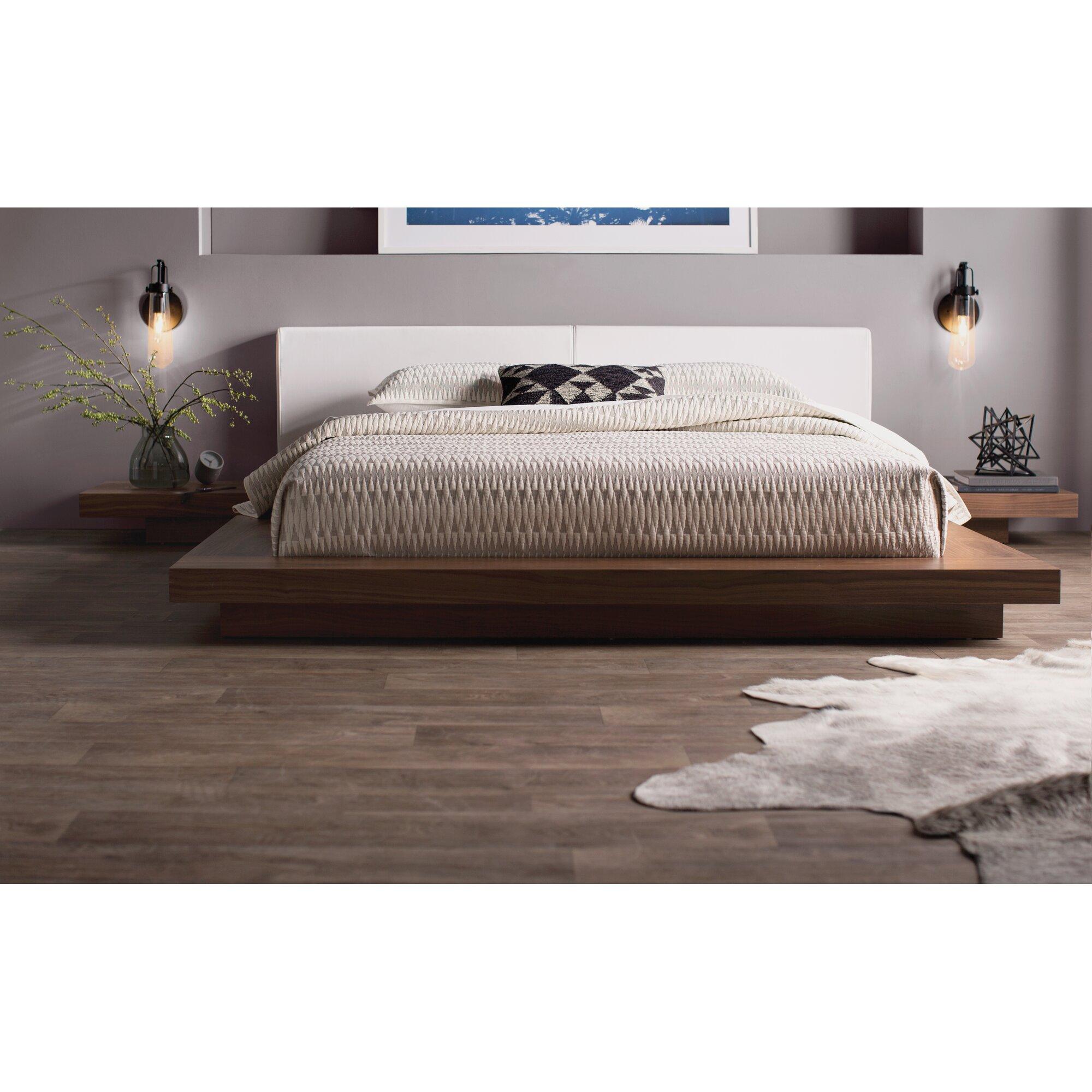 Modloft Sloan Upholstered Platform Bed