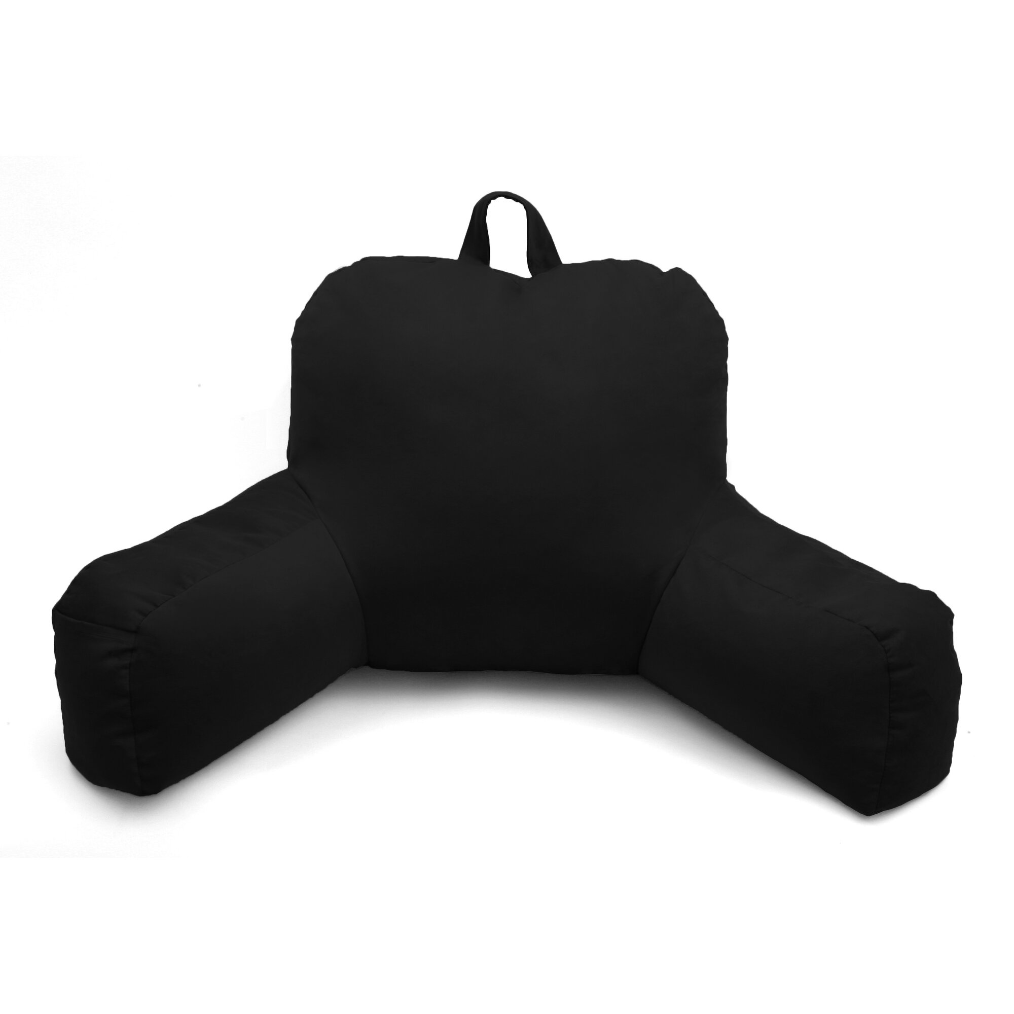 Bed rest pillow walmart - Bed Rest Pillow Black Porter Microsuede Bed Rest Pillow