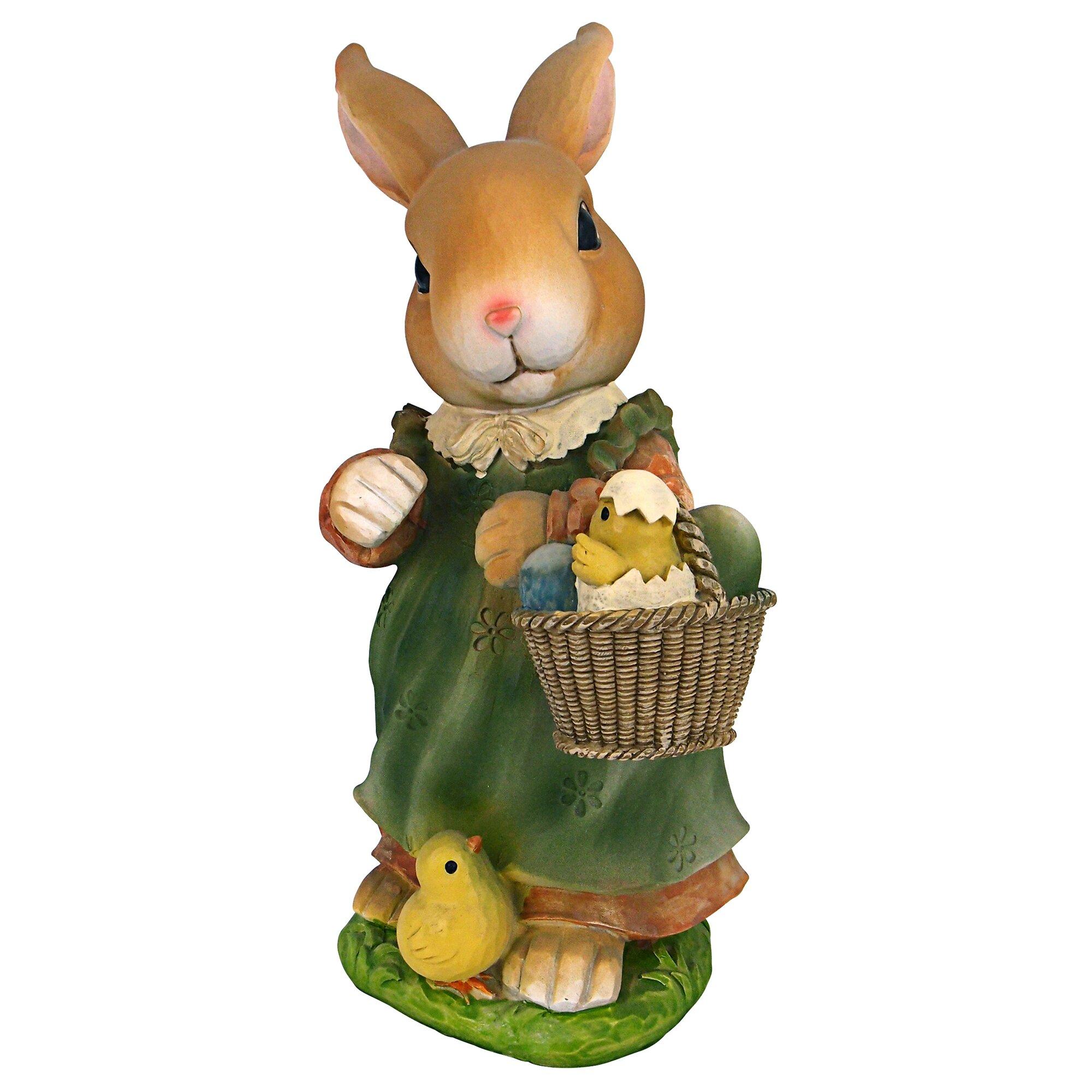 Uncategorized Bunny Kitchen Appliances design toscano bunny hop lane mother rabbit statue reviews wayfair statue