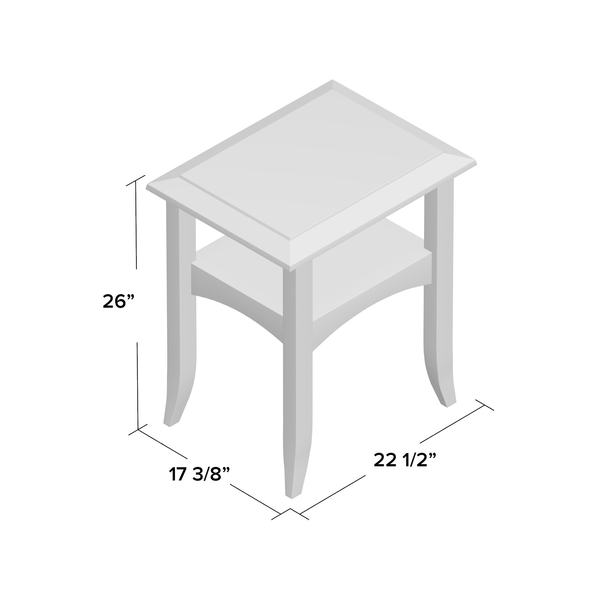 Charlton Home Levin End Table u0026 Reviews : Wayfair.ca