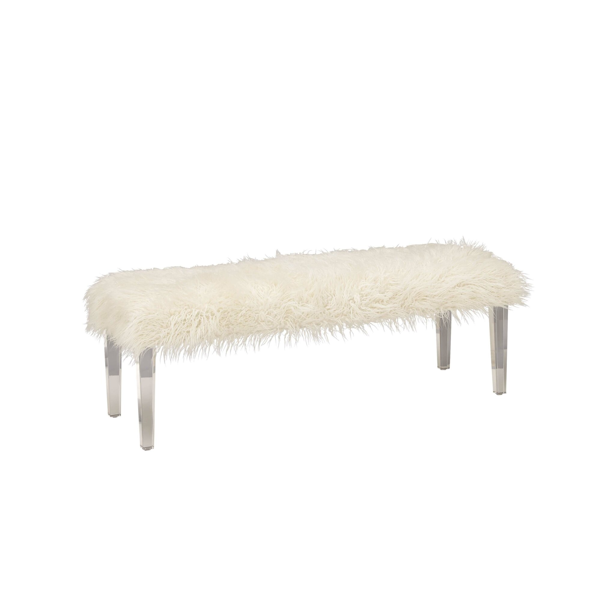 Bedroom bench dimensions - Faux Fur Bedroom Bench