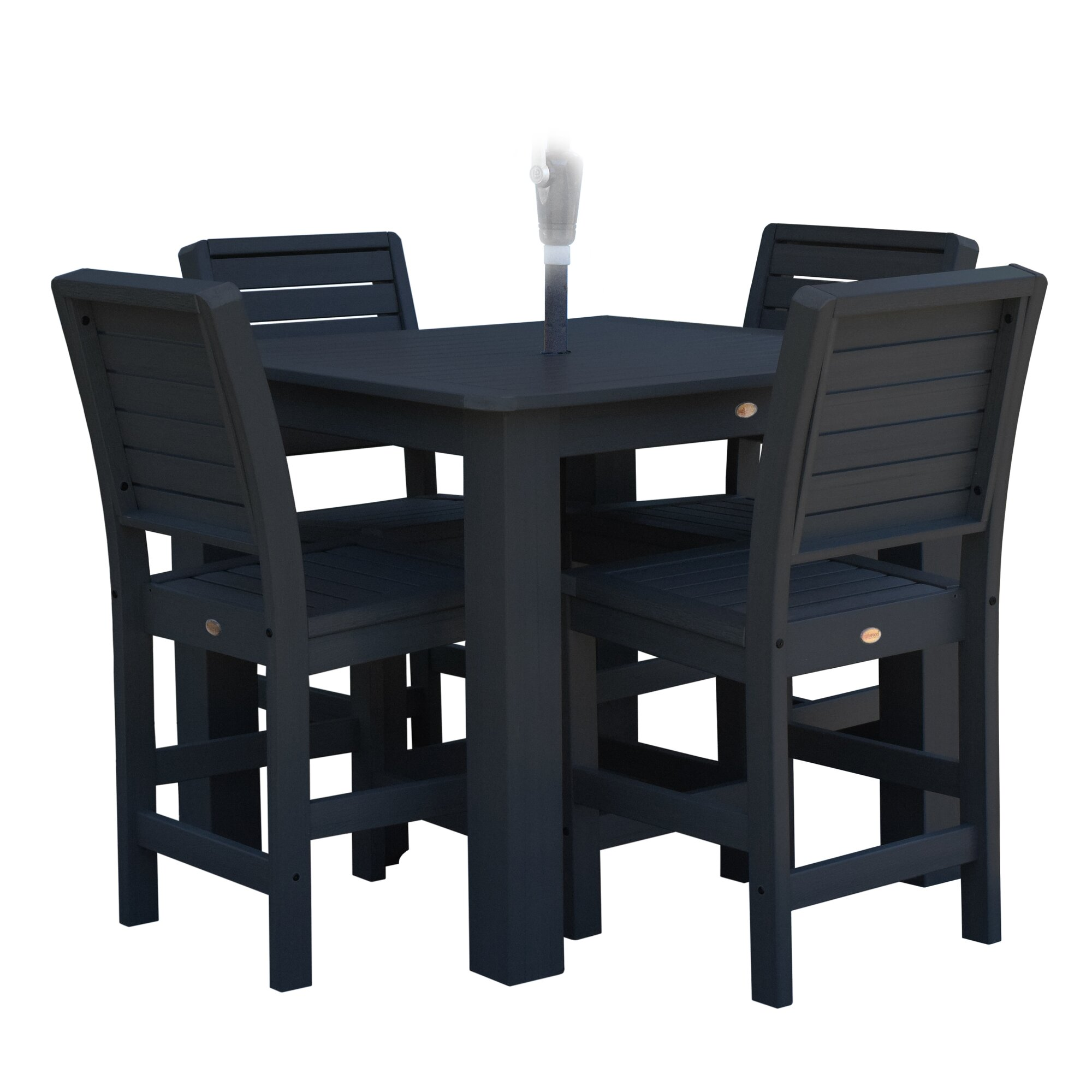 Berry 5 Piece Bar Height Dining Set