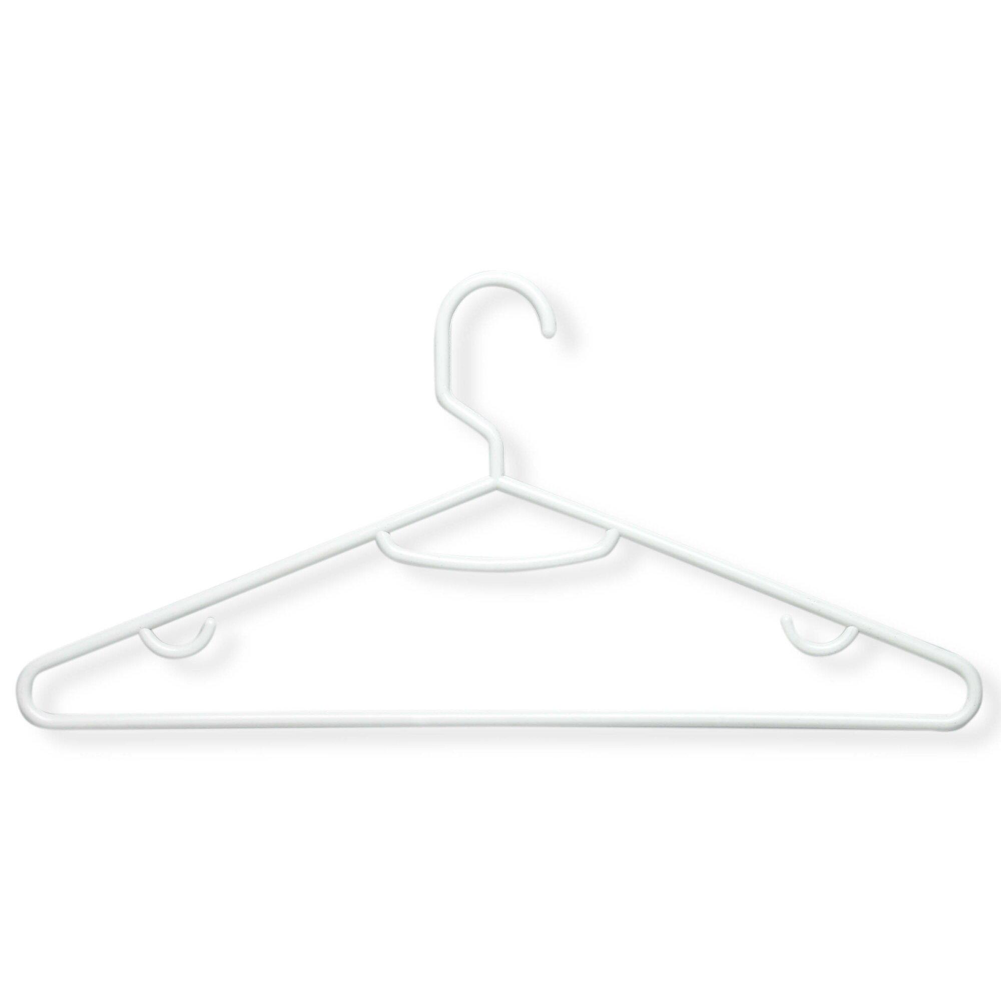 wayfair allmodern - wayfair basics plastic tubular nonslip hanger reviews allmodern