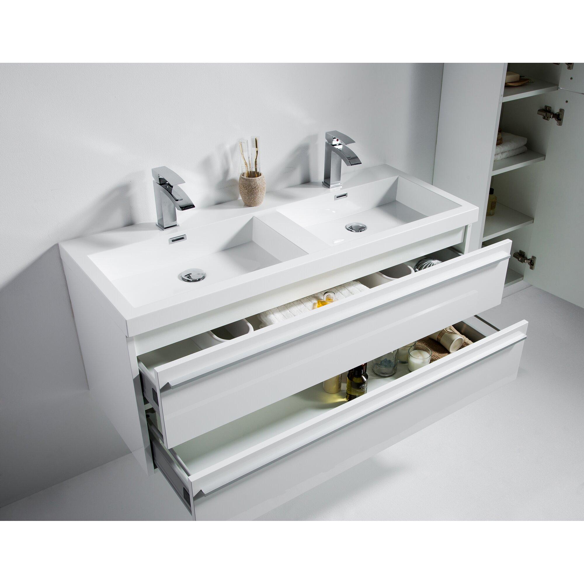 """Golden Elite Sofia 47"""" Double Bathroom Vanity Set"""
