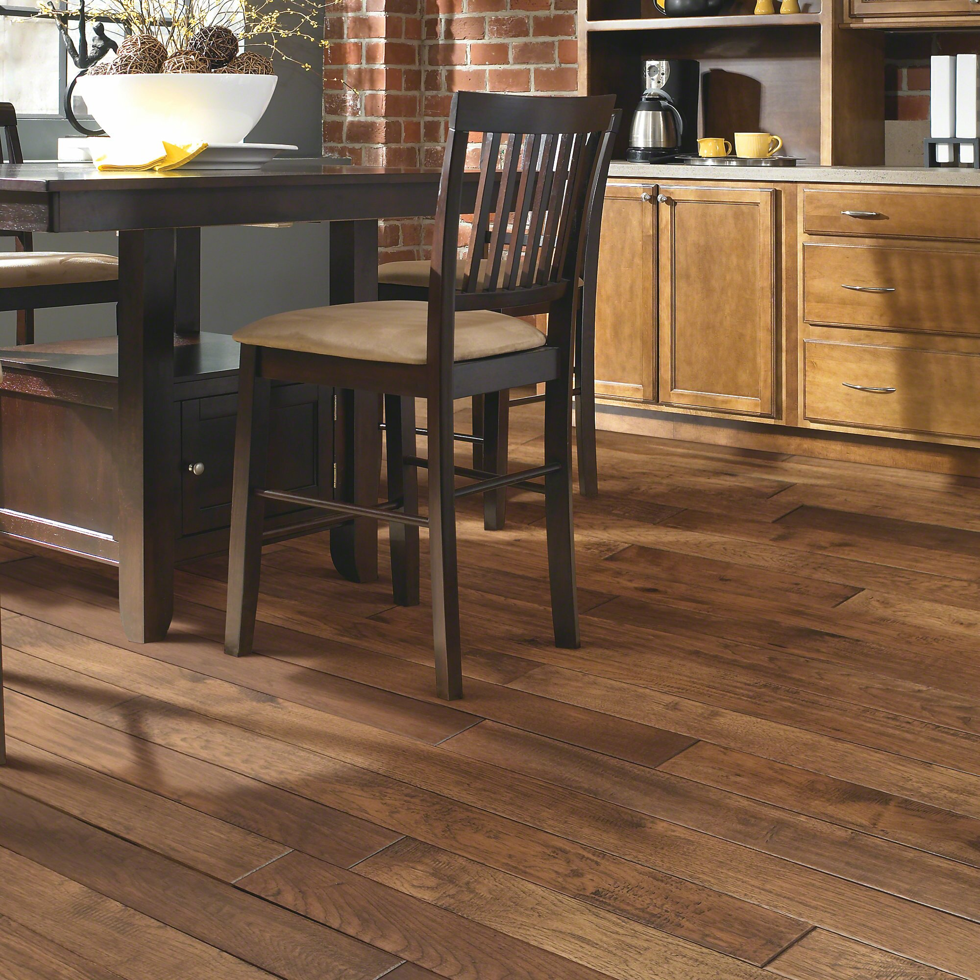 Fallon 4 Solid Hickory Hardwood Flooring In Gibson