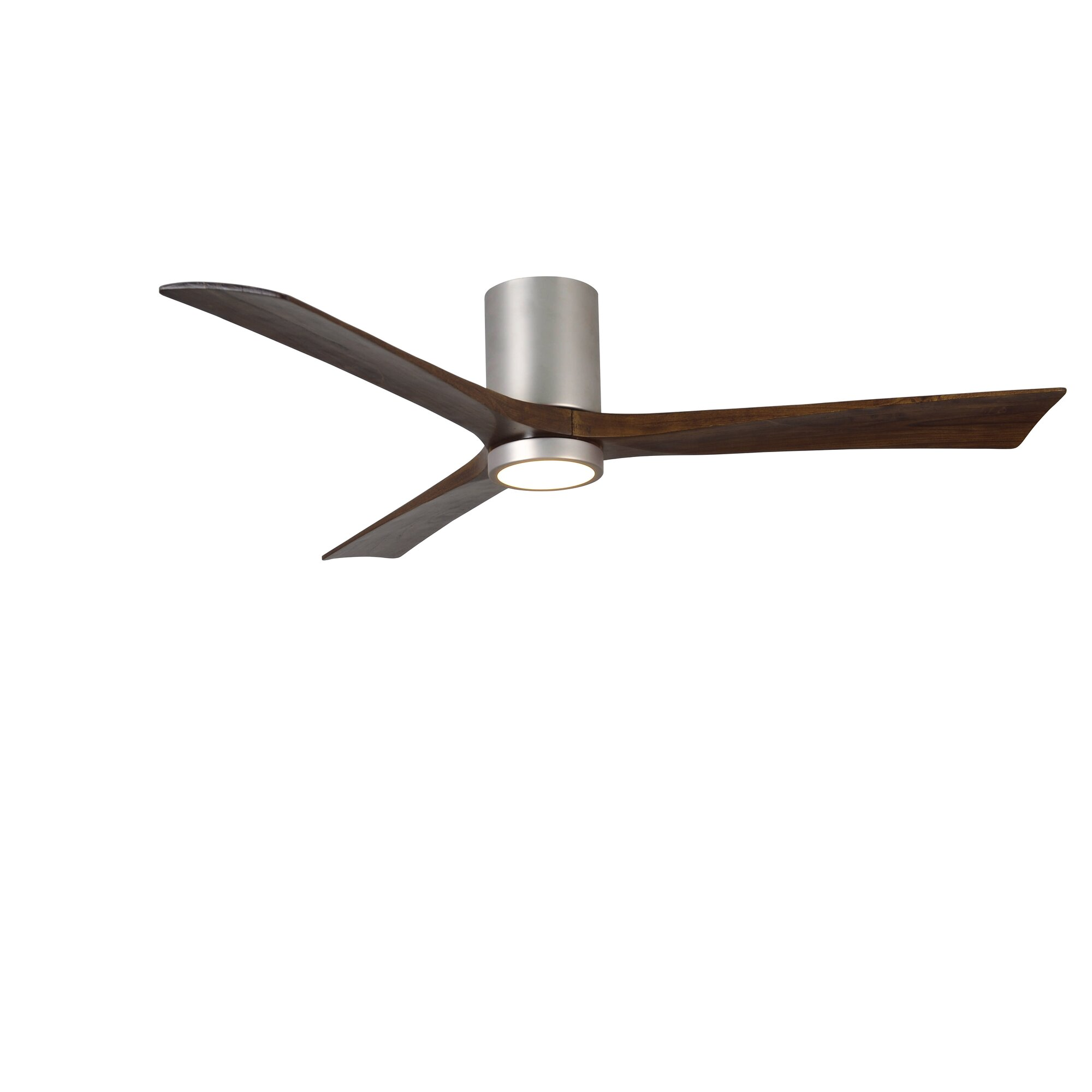 "wade logan 60"" rosalind 3 blade hugger ceiling fan with wall"