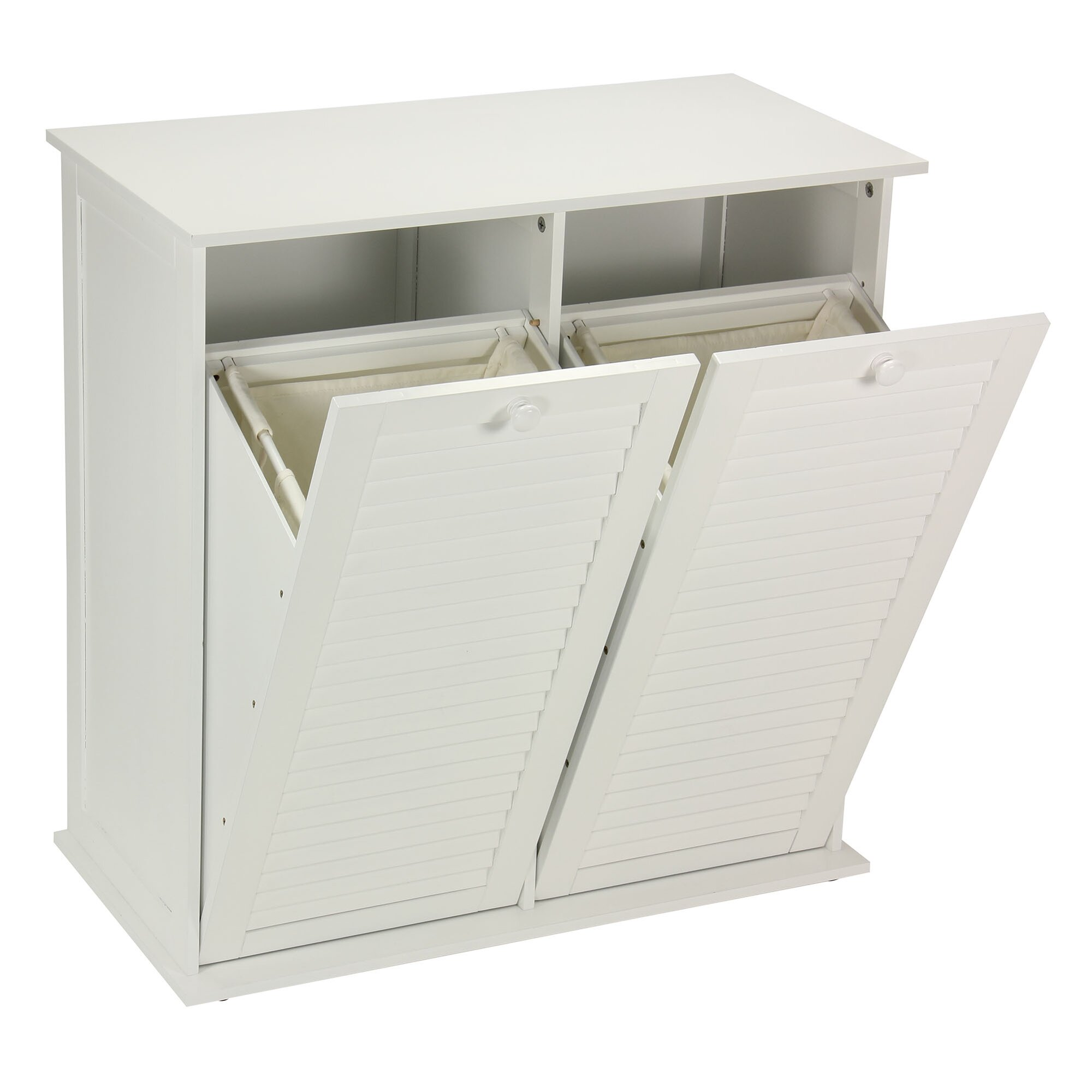 Rebrilliant Cabinet Laundry Hamper Amp Reviews Wayfair