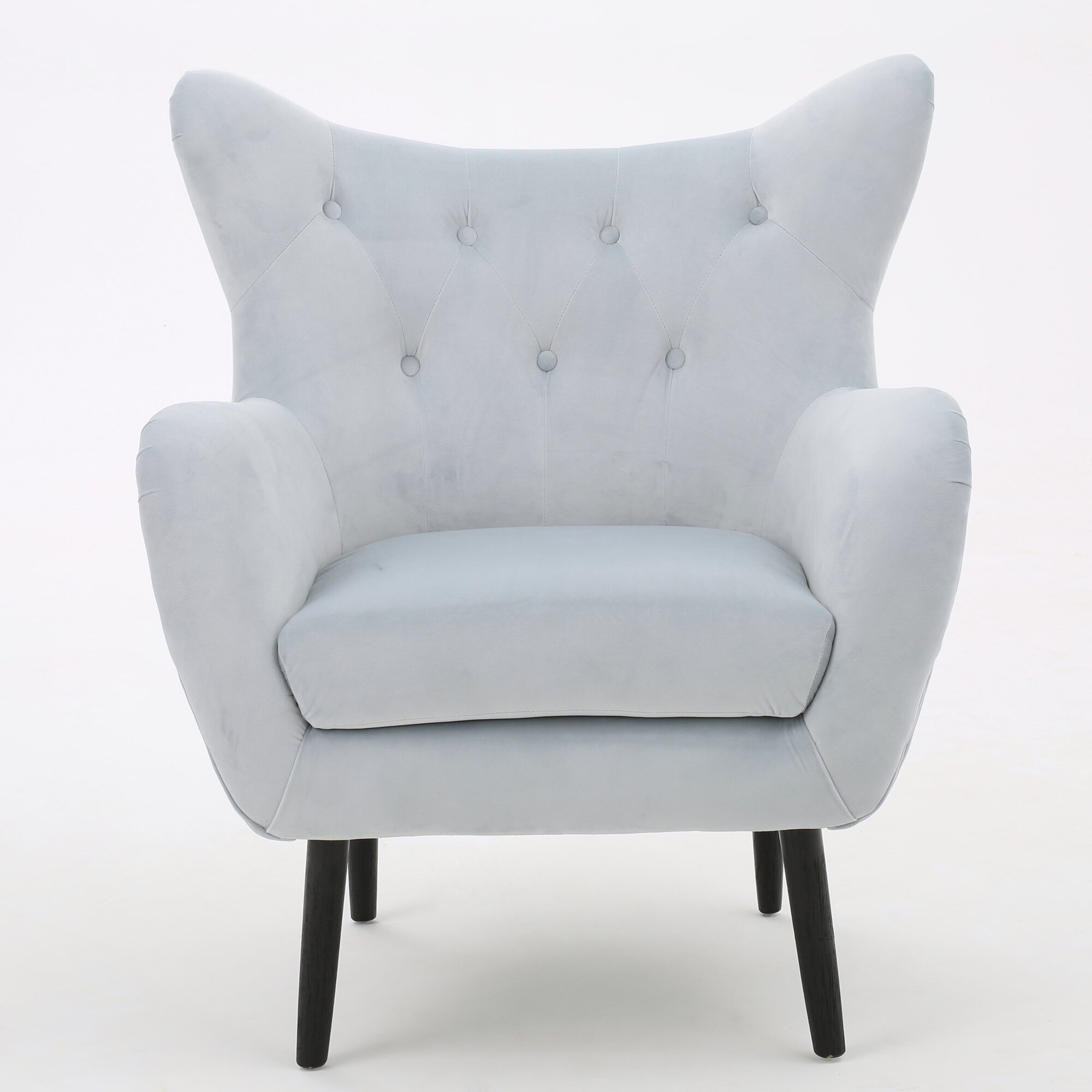 Saphira Wingback Chair & Reviews