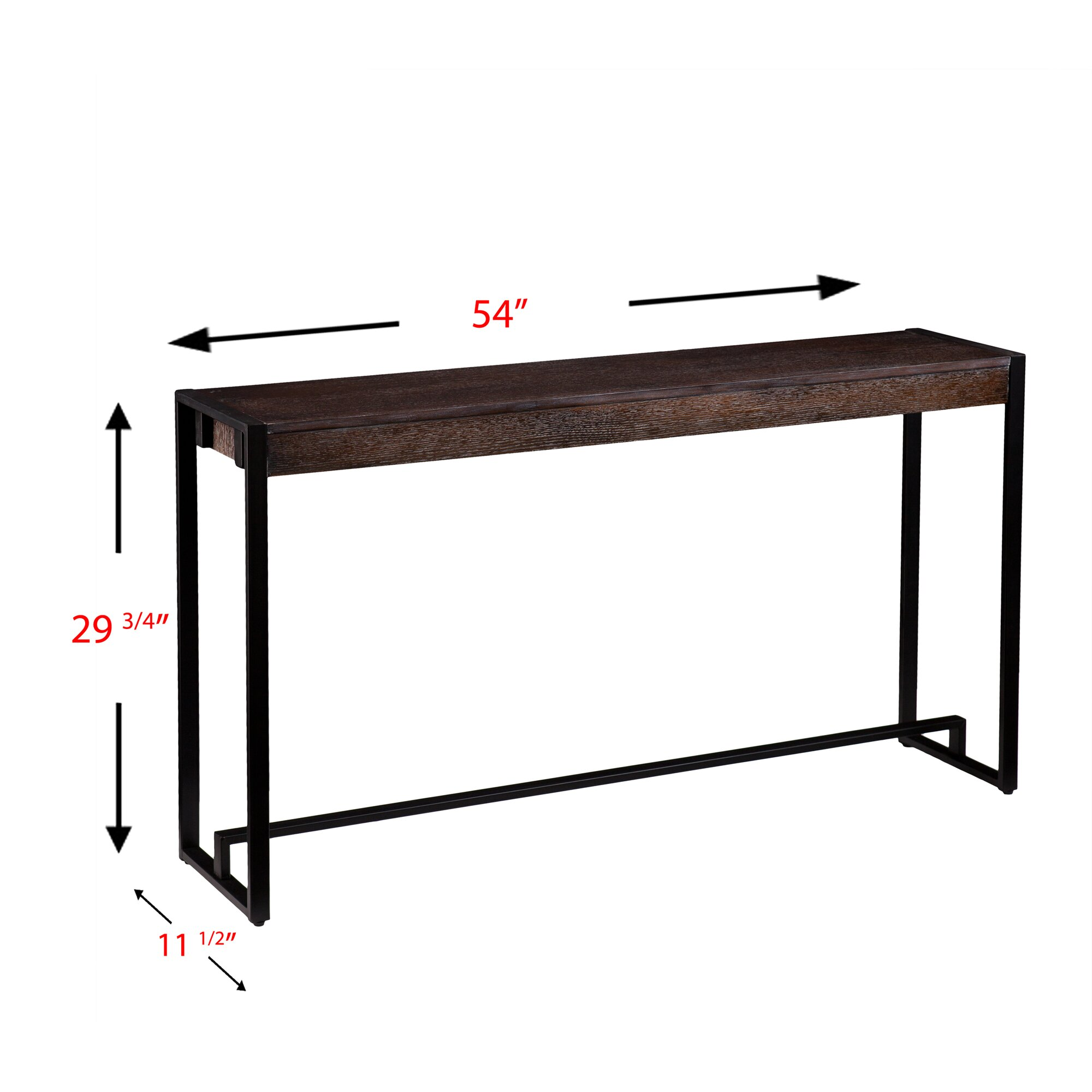 Contemporary console table - Katlyn Macen Console Table