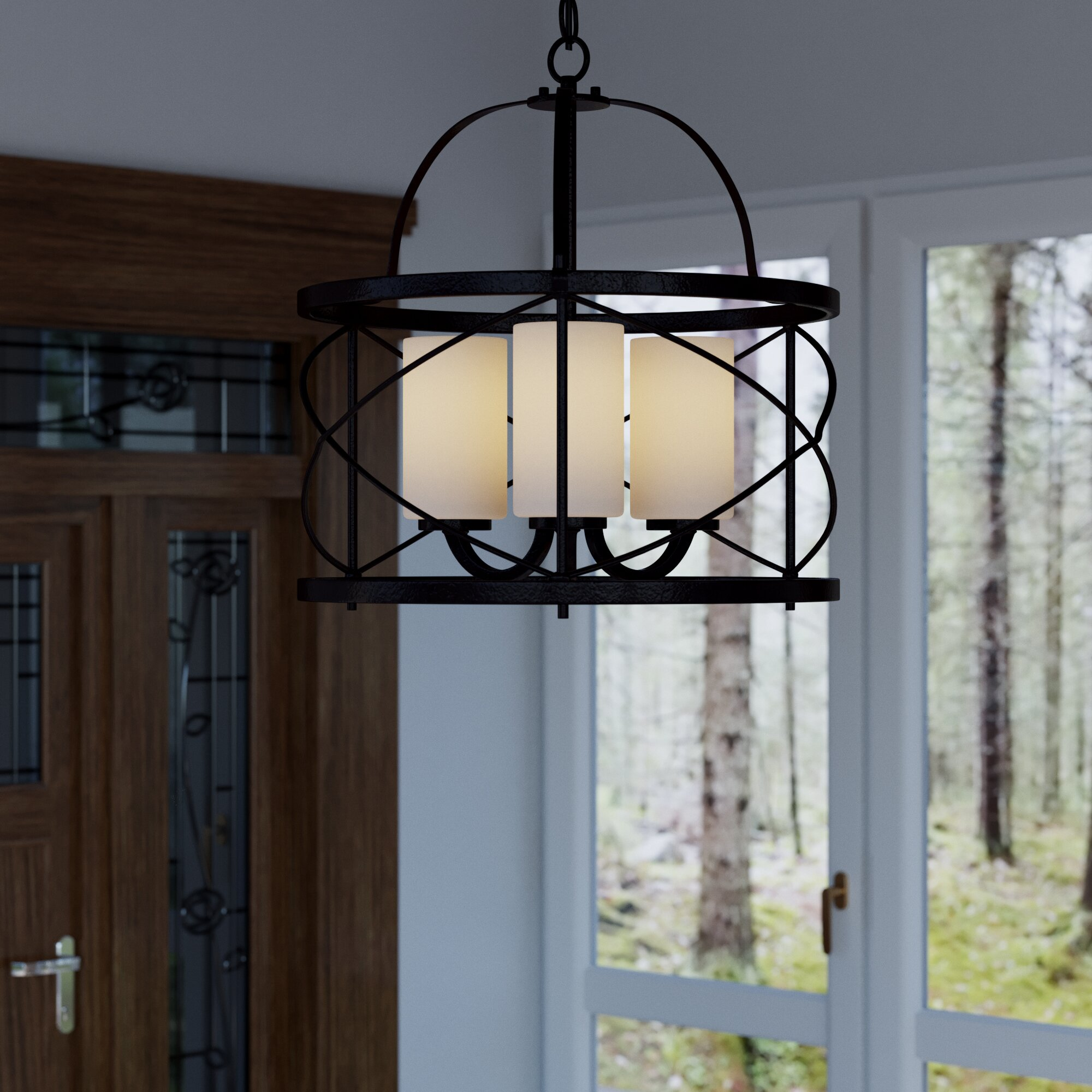Foyer Ceiling Queen : Darby home co farrier light foyer pendant reviews