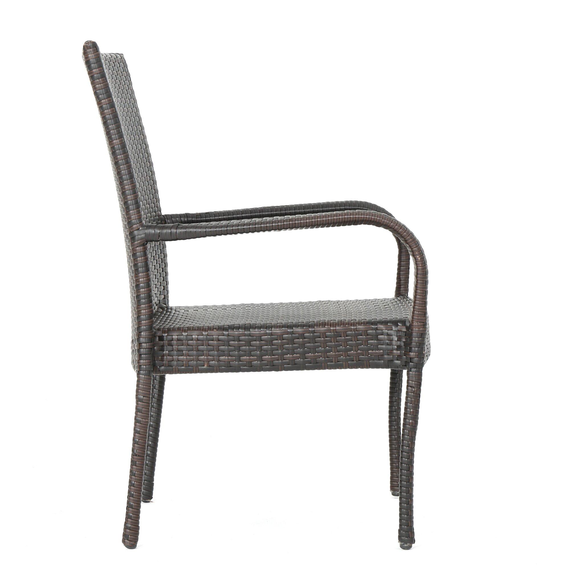 Aislin Outdoor Wicker 3 Piece Lounge Seating Group : Joss u0026 Main