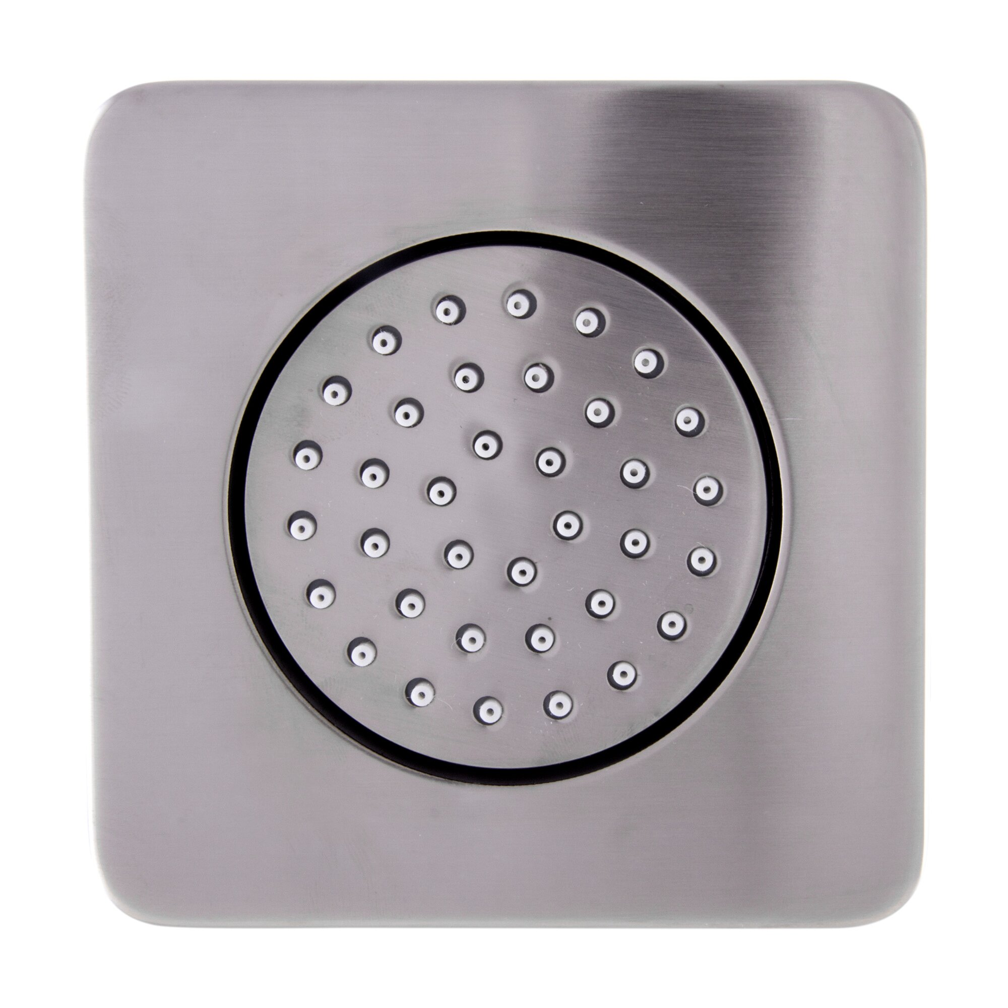 alfi brand flush mounted fixed body spray shower head