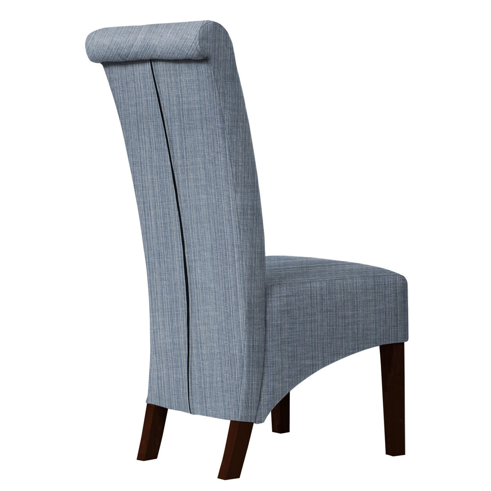 Red barrel studio keyesport upholstered dining chair - Red upholstered dining chairs ...