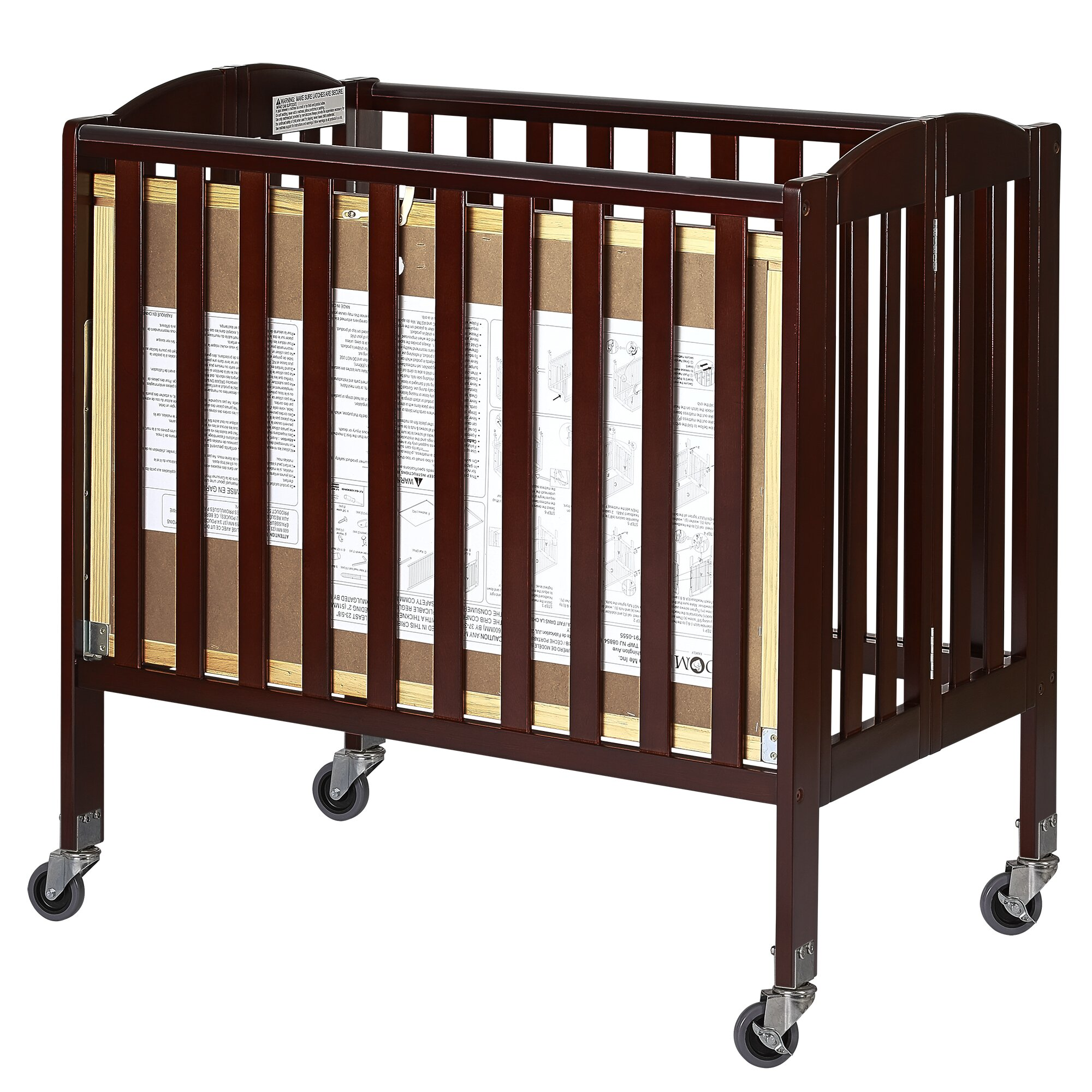 Dream On Me Dream On Me Folding Portable Crib with ...