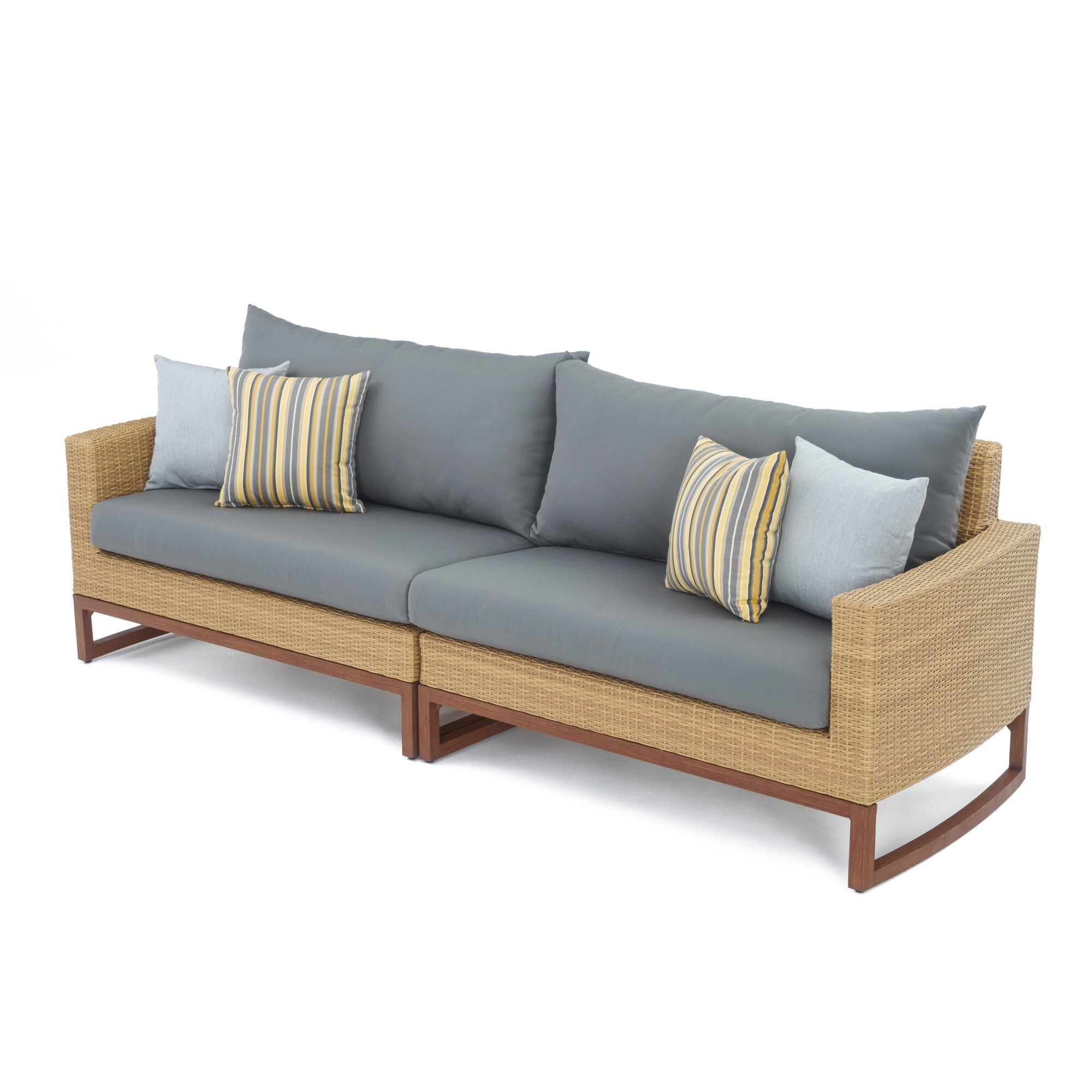 Addison 6 Piece Sectional Seating Group with Cushions : Joss u0026 Main