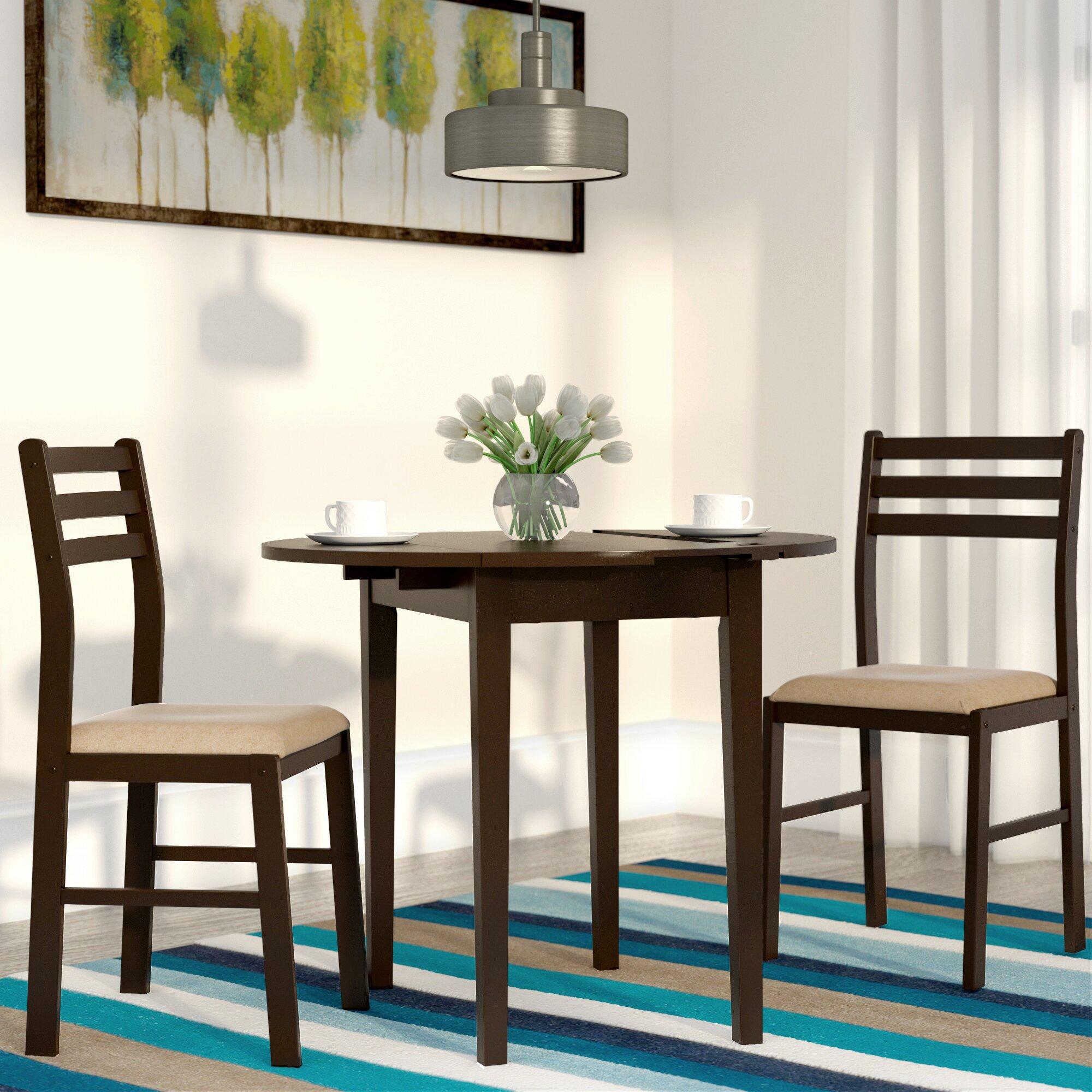 3 Piece Dining Room Set: Andover Mills Lynbrook 3 Piece Dining Set & Reviews