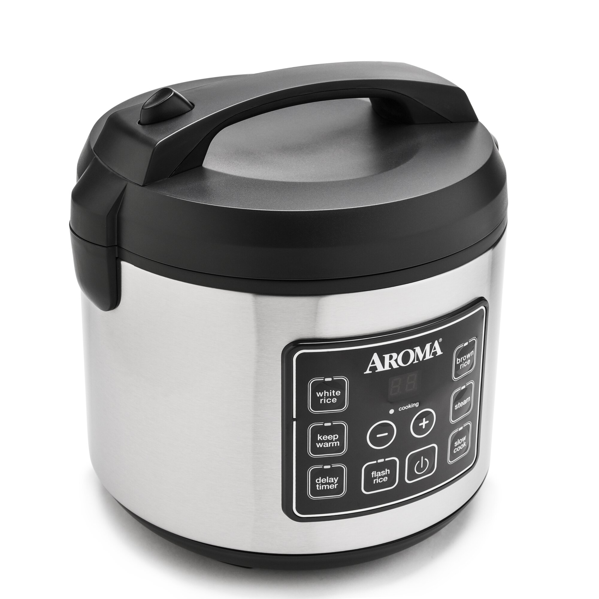 Aroma Digital Rice Cooker And Food Steamer: Aroma 20-Cup